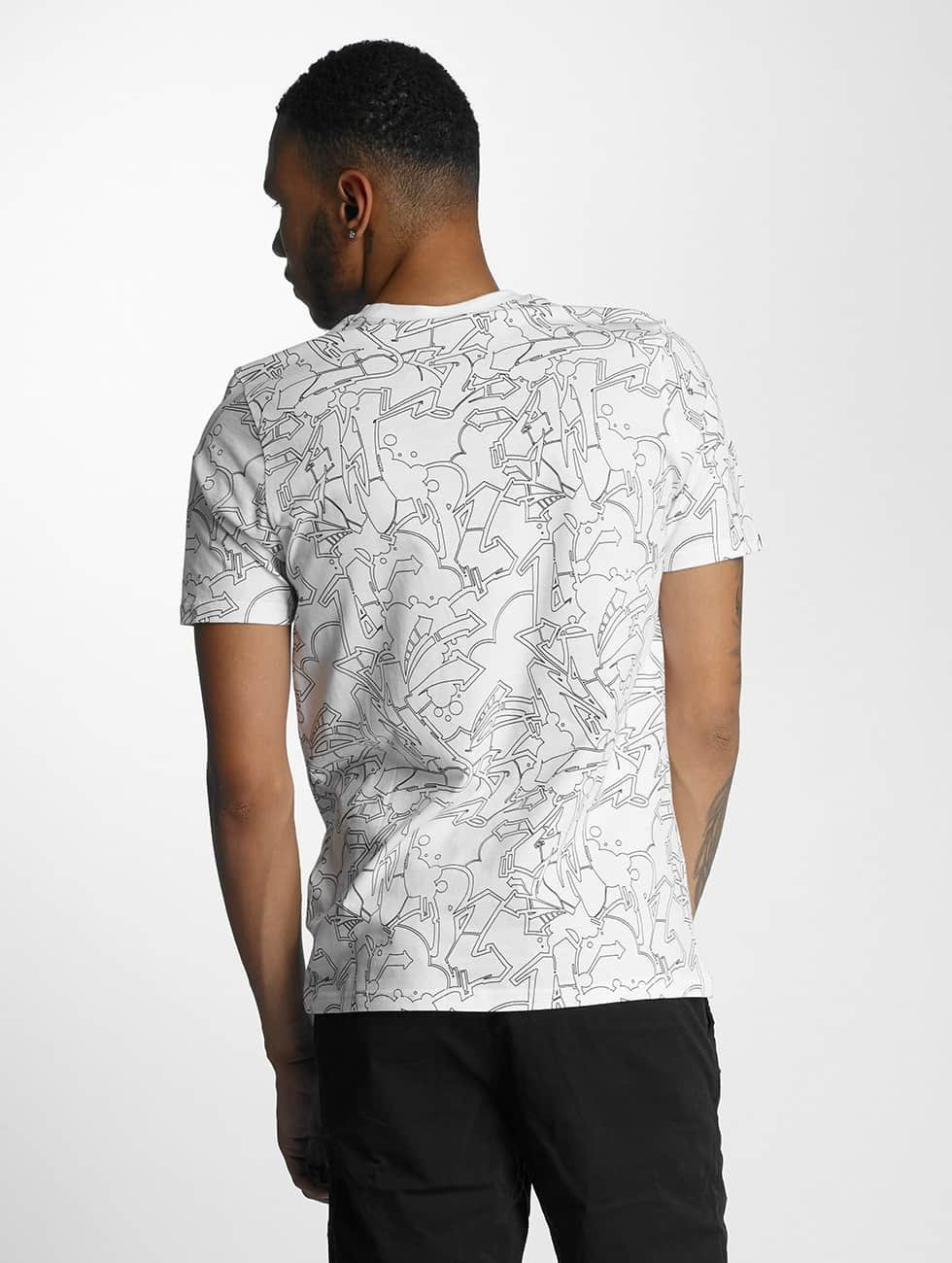 Wrung Division T-Shirt Freestyle Dize white