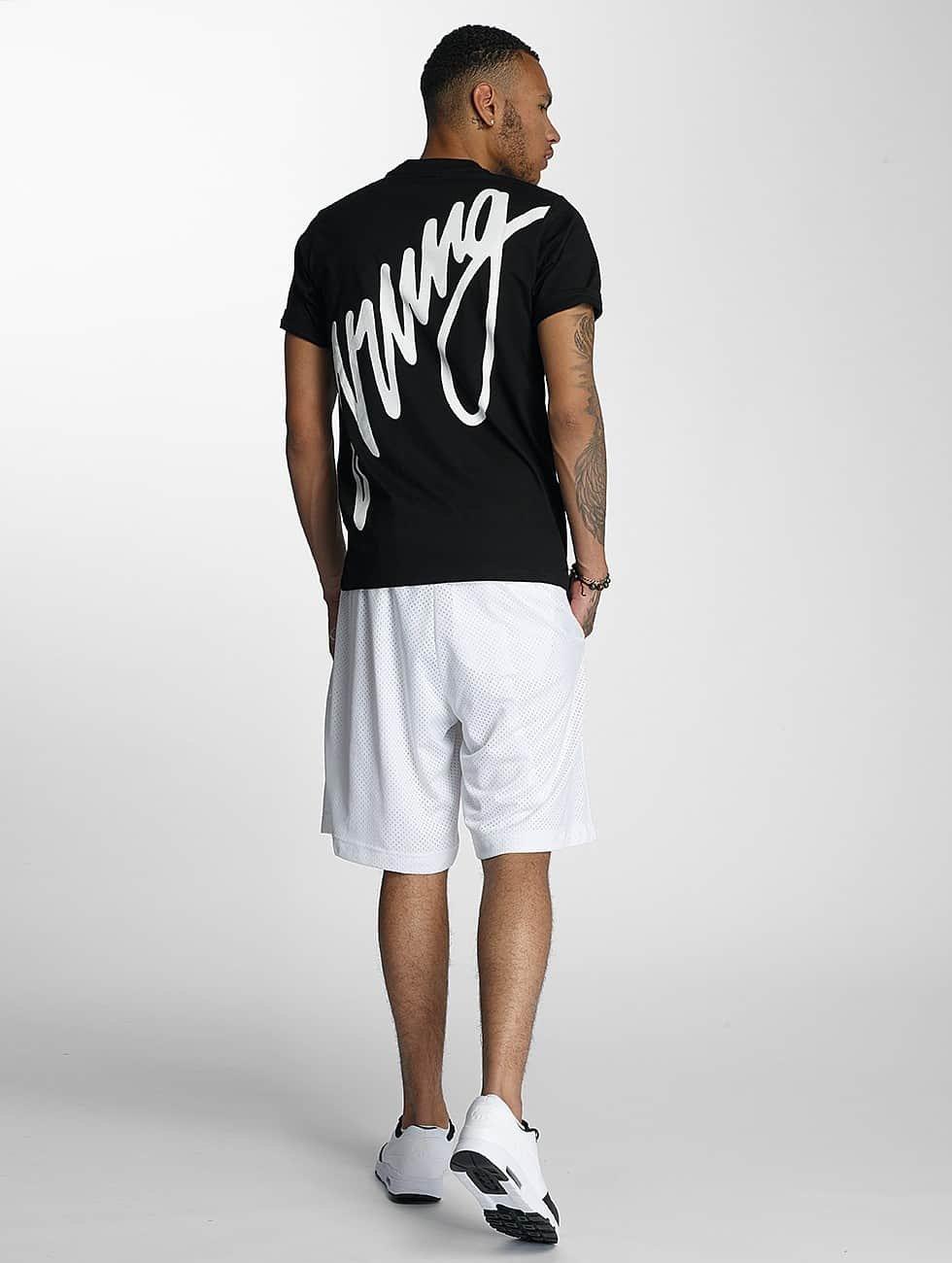 Wrung Division T-Shirty Black Sign czarny