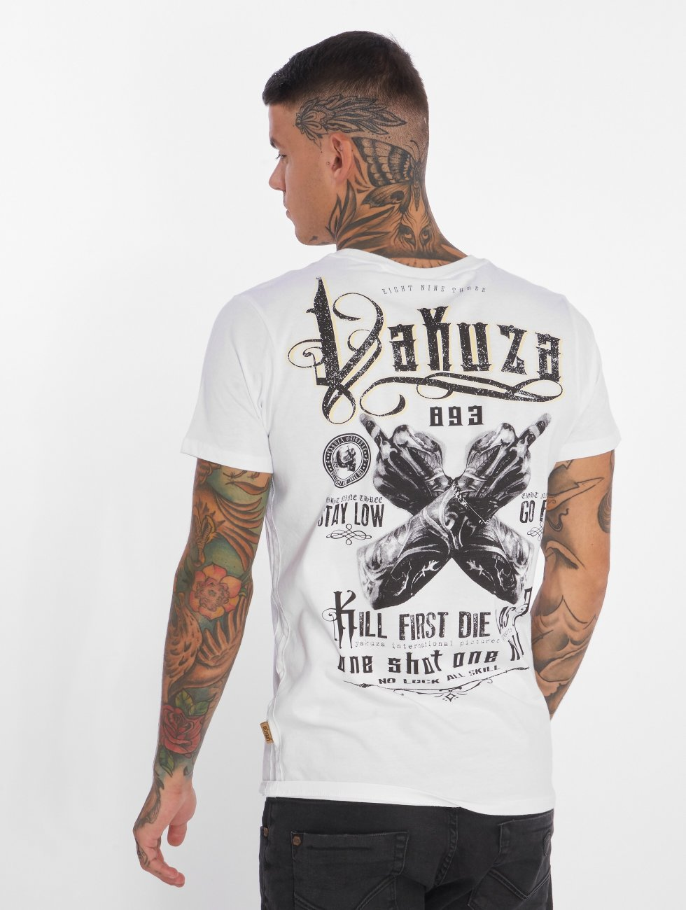 Yakuza Camiseta One Shot blanco