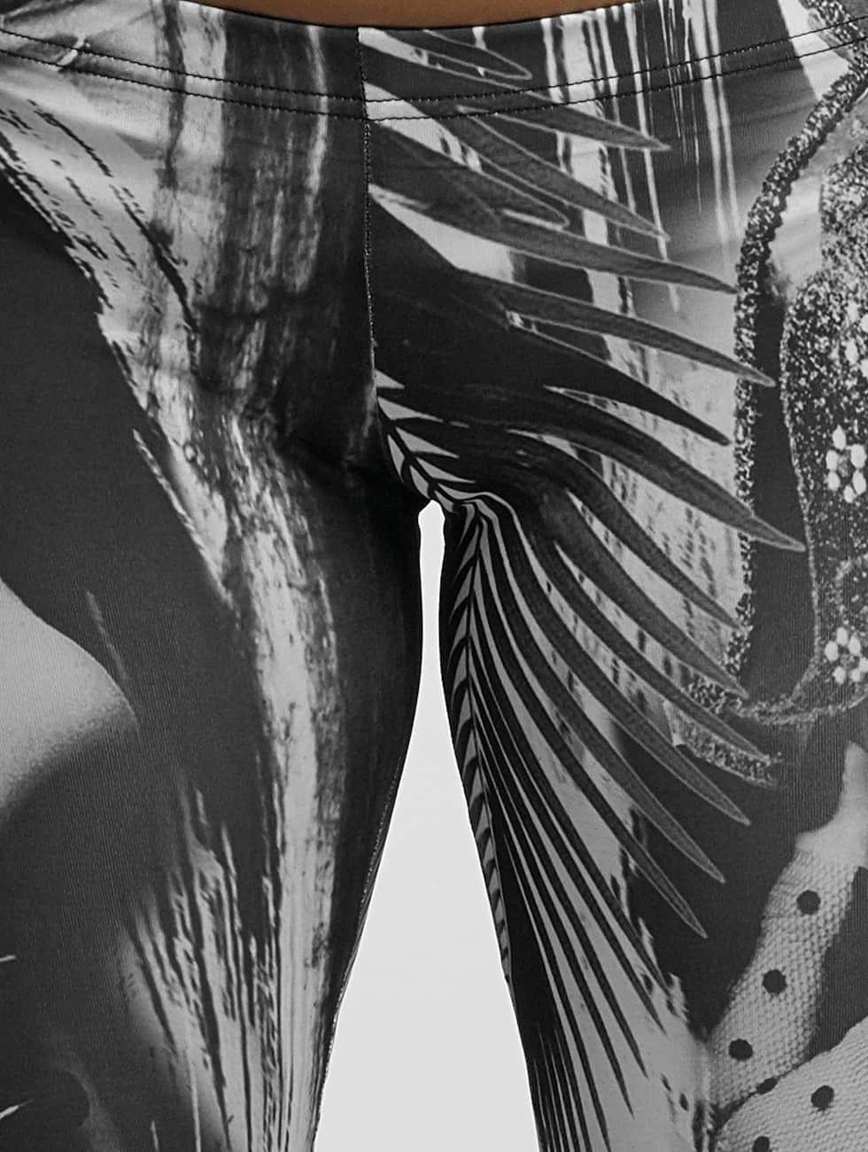 Yakuza Leggings/Treggings Mask On black