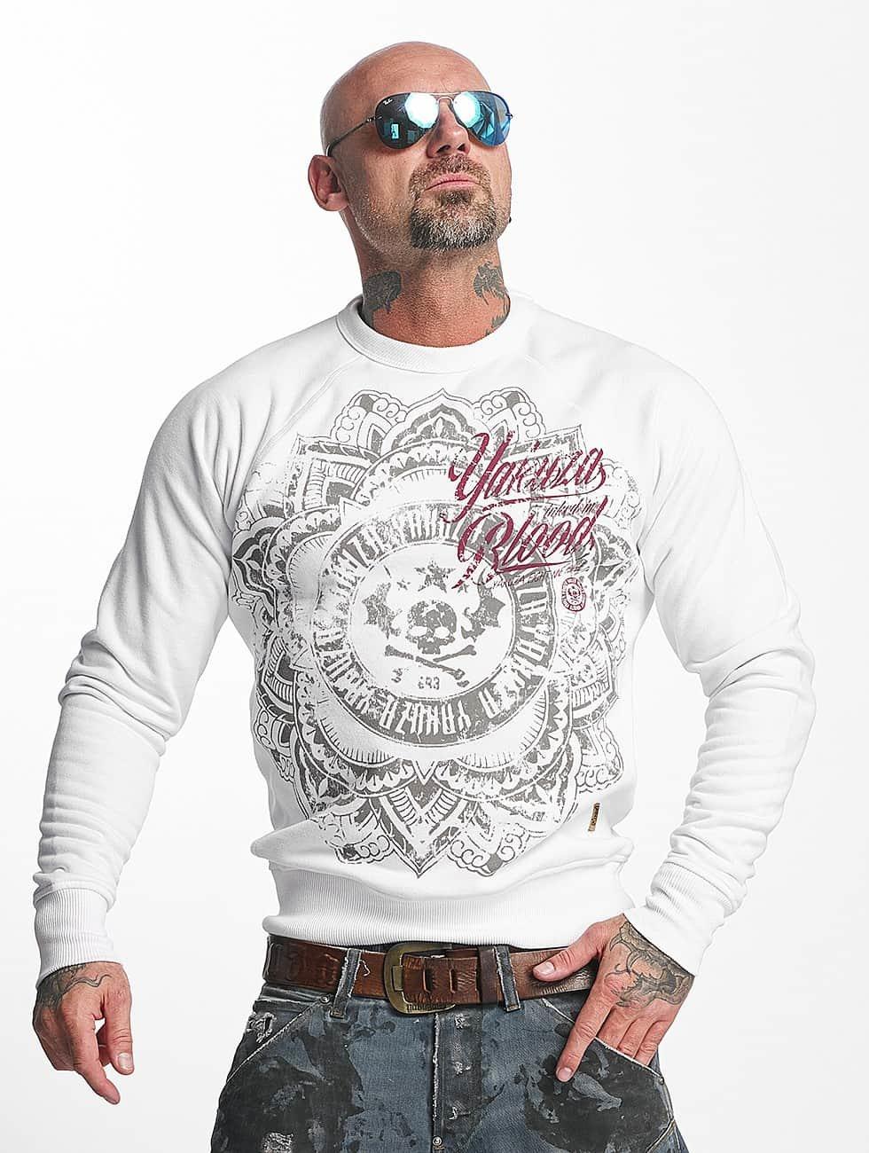 Yakuza Sweat & Pull Inked In Blood blanc