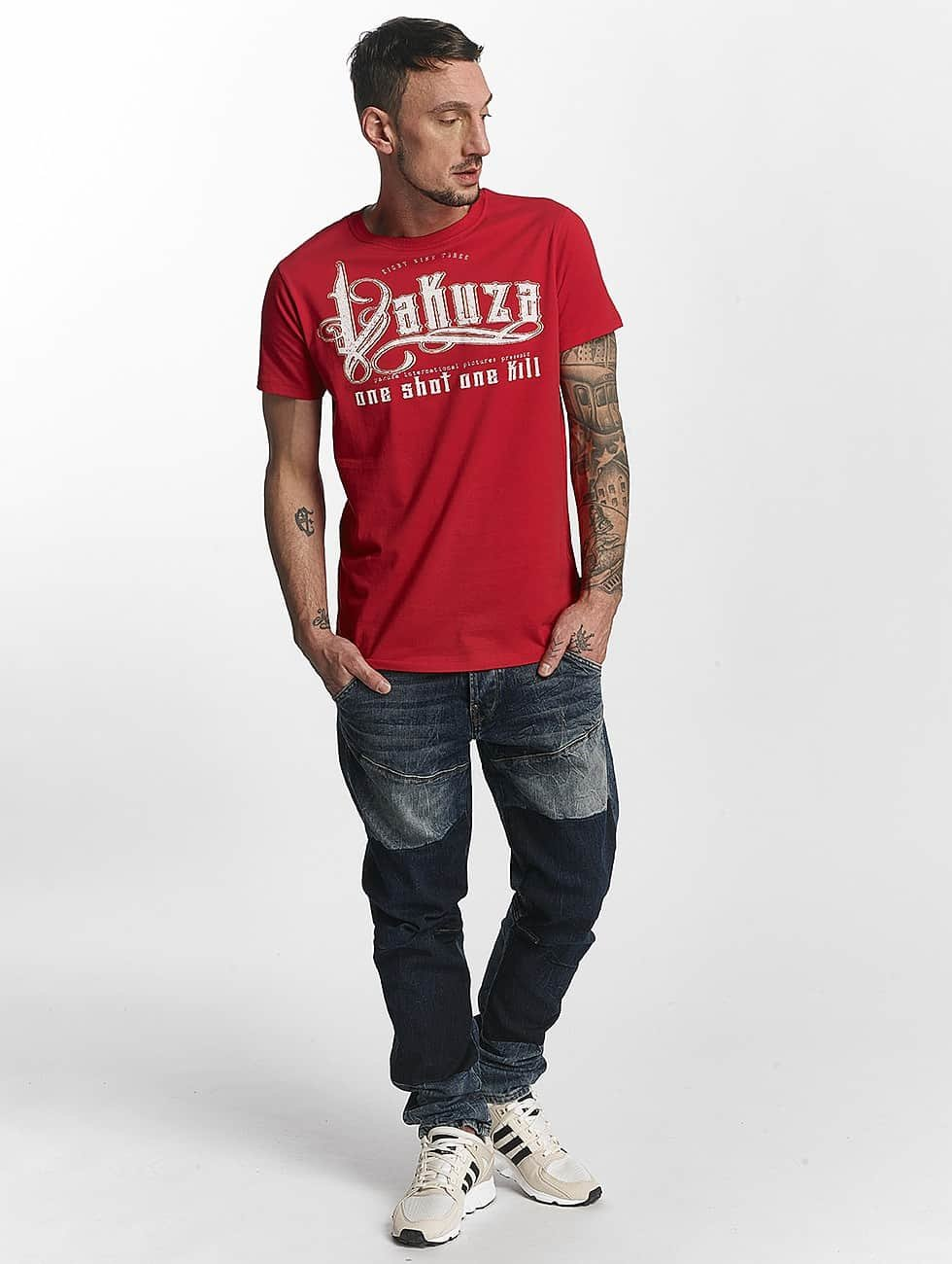 Yakuza t-shirt One Shot rood