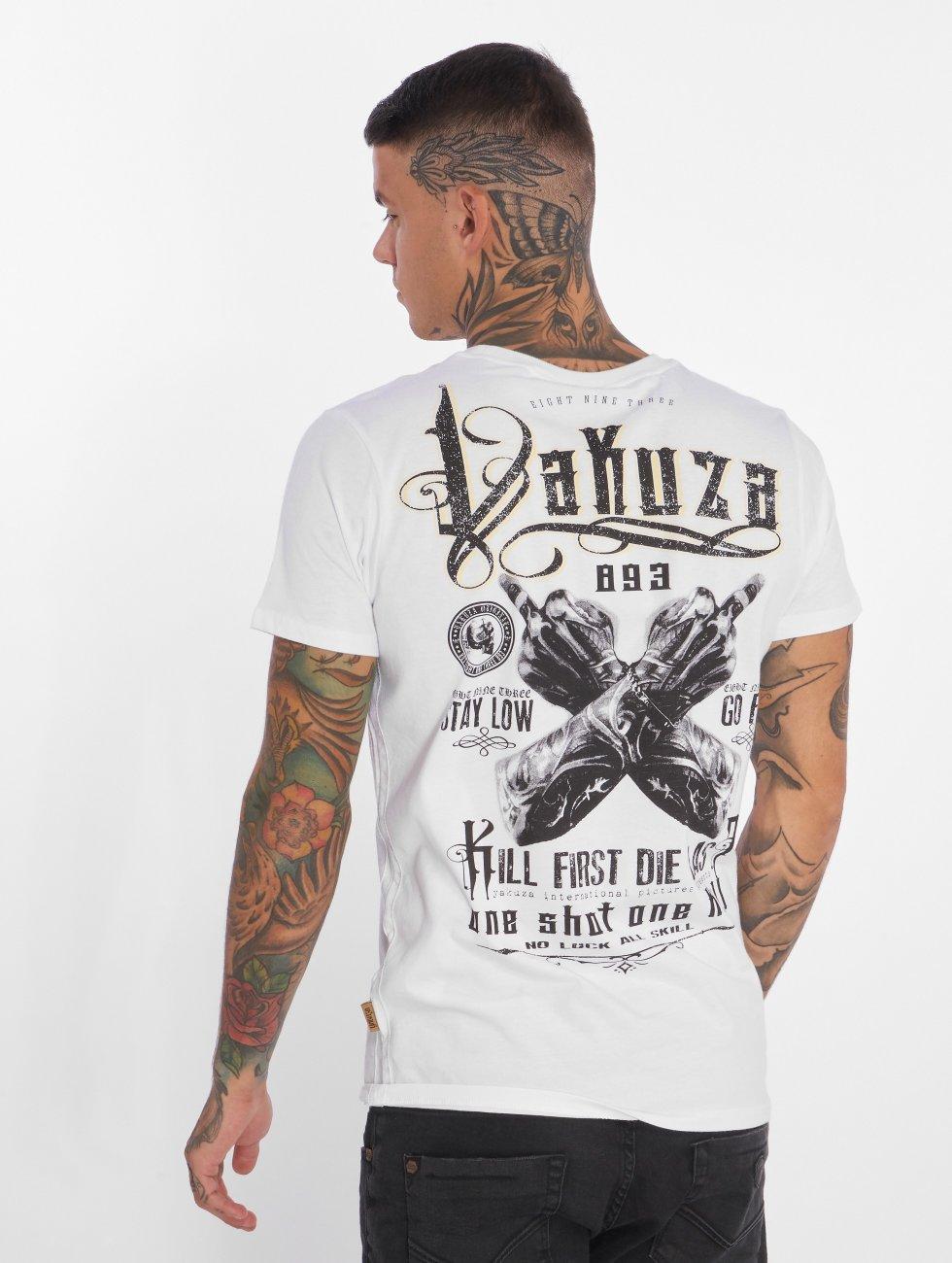 Yakuza T-Shirt One Shot white