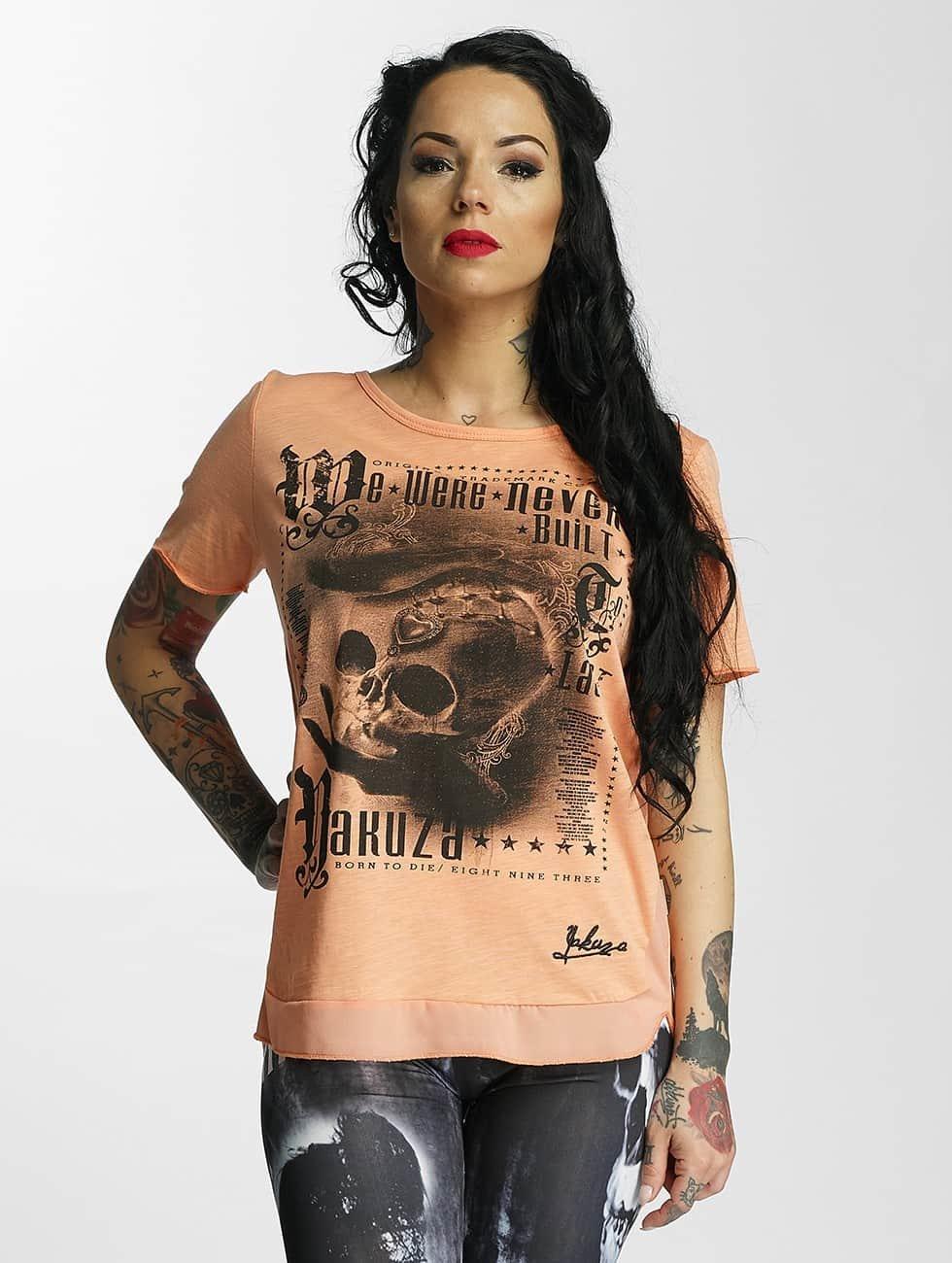 Yakuza T-skjorter Built oransje