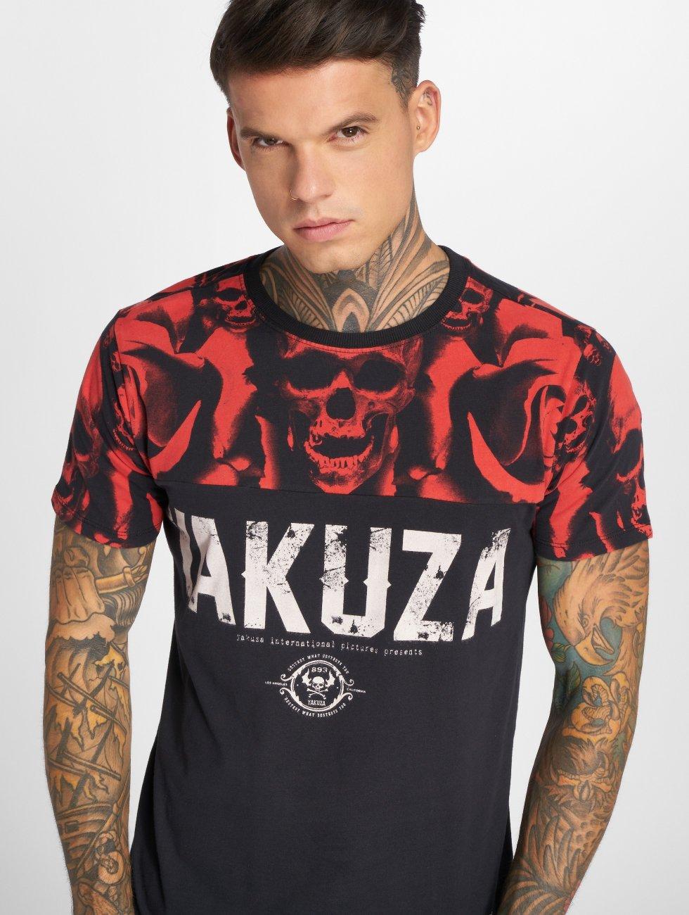 Yakuza T-skjorter SICK n FxCK svart