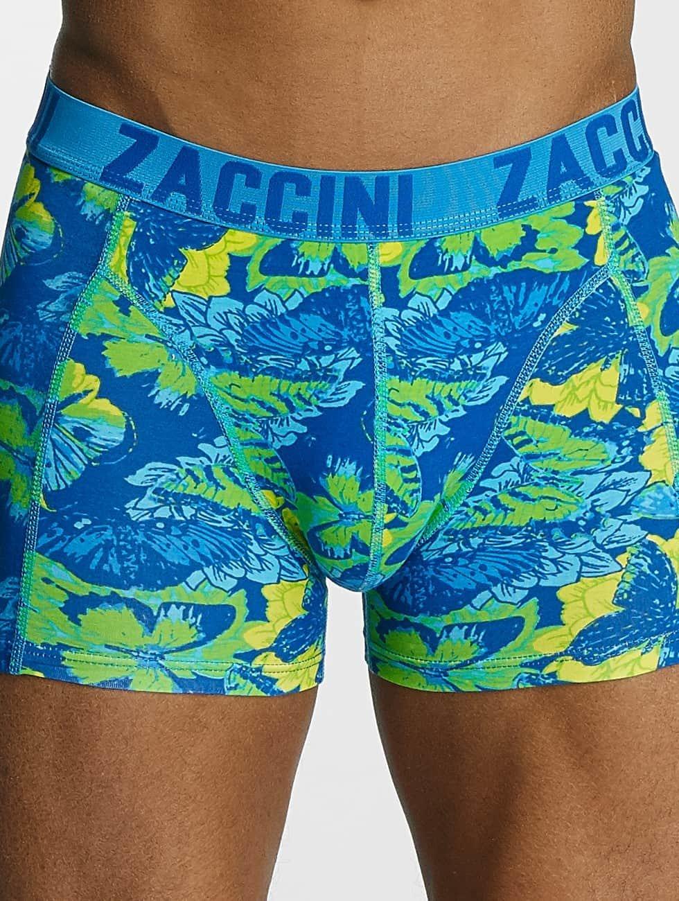 Zaccini boxershorts Summer Butterfly blauw