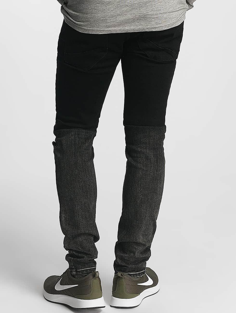 Zayne Paris Slim Fit Jeans Classic zwart