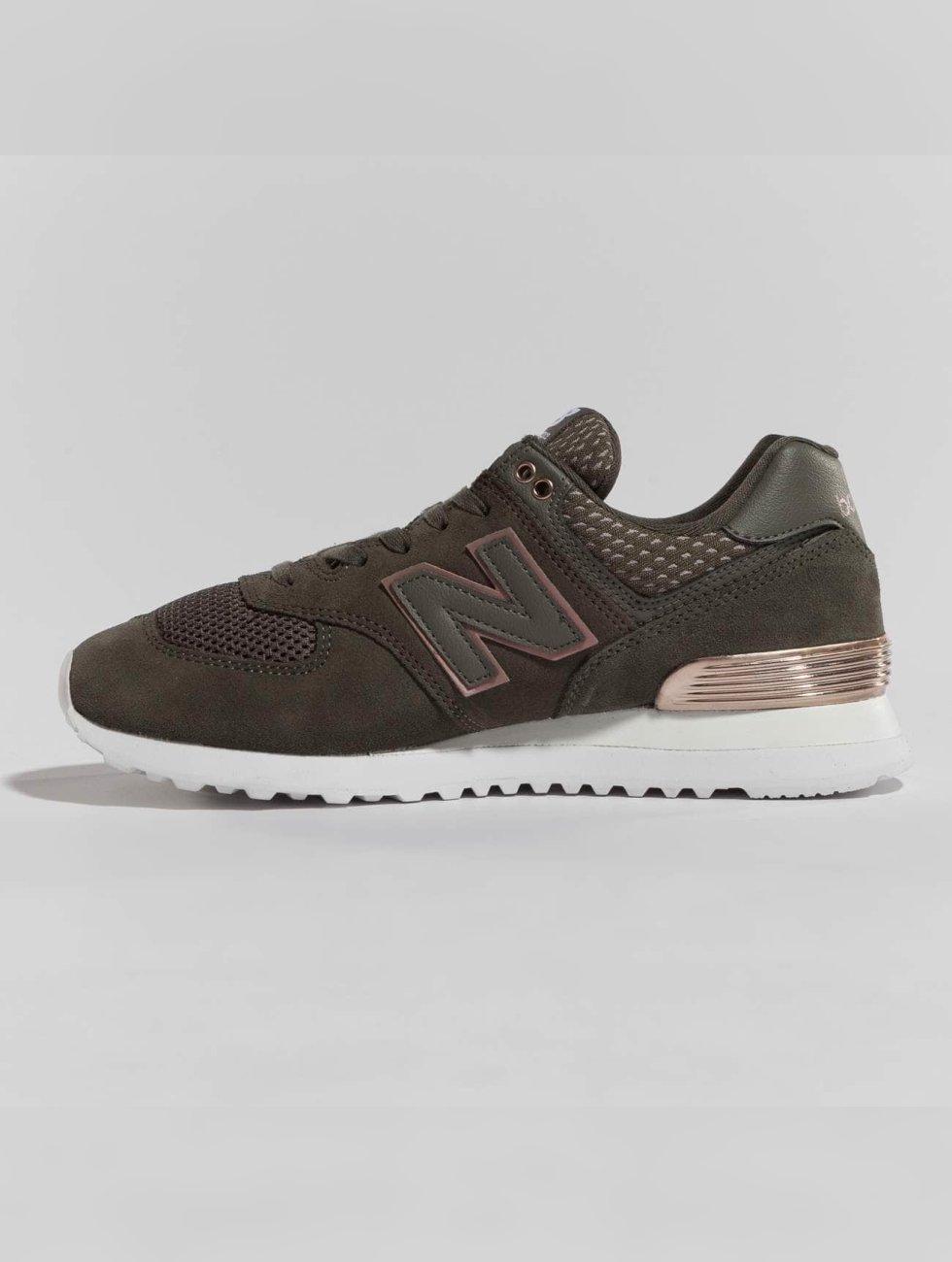New Balance sneaker WL574FSD groen