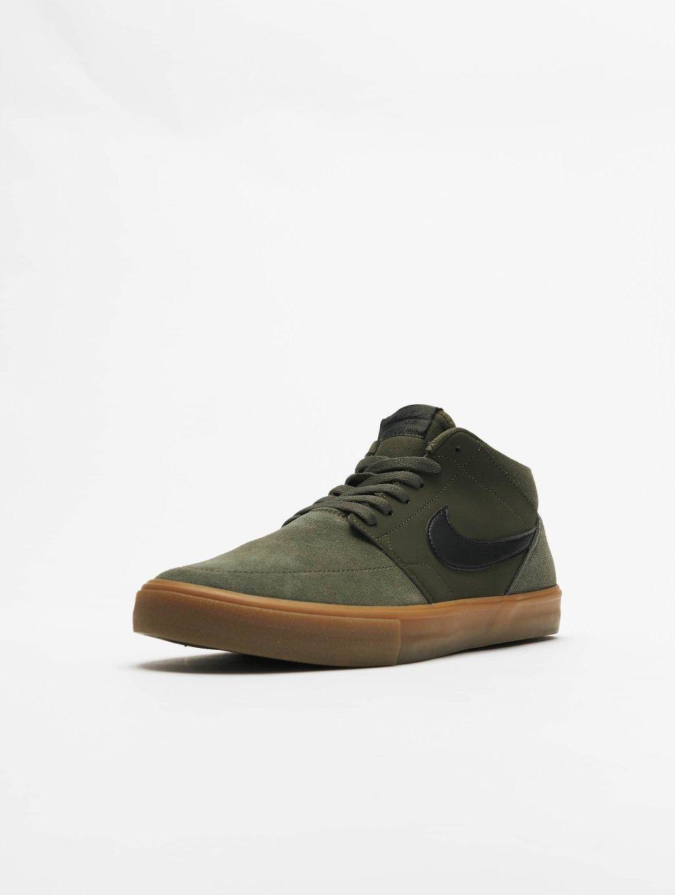 Nike schoen / sneaker SB Solarsoft Portmore ll Mid Skateboarding in groen 416733 countdown-pakket ruDv7r