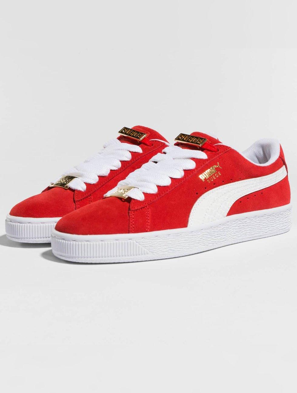 Puma Sneakers BBoy Fabulous Suede Classic röd