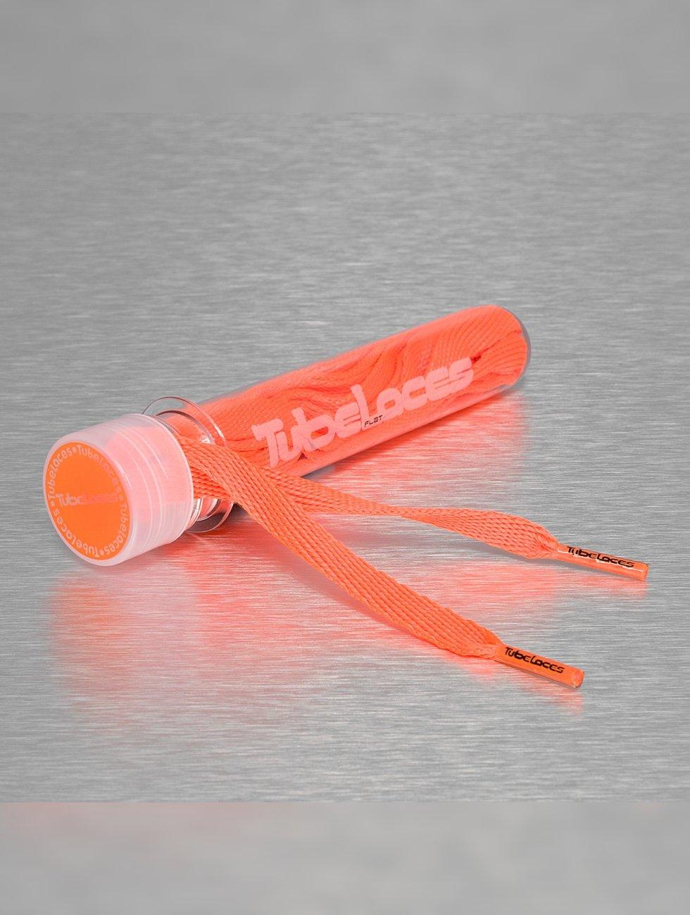 Tubelaces Lacet Flat Laces 140cm orange