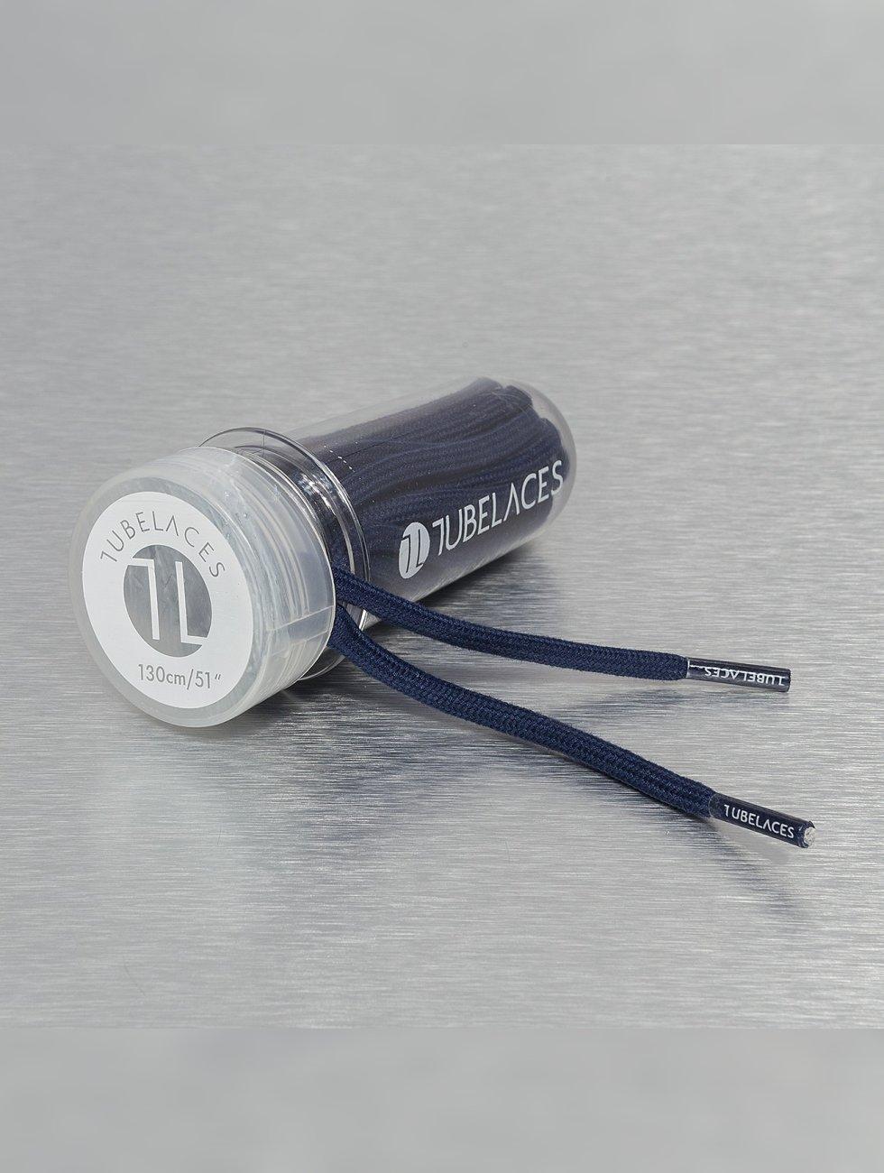 Tubelaces Schoenveter Rope Solid blauw