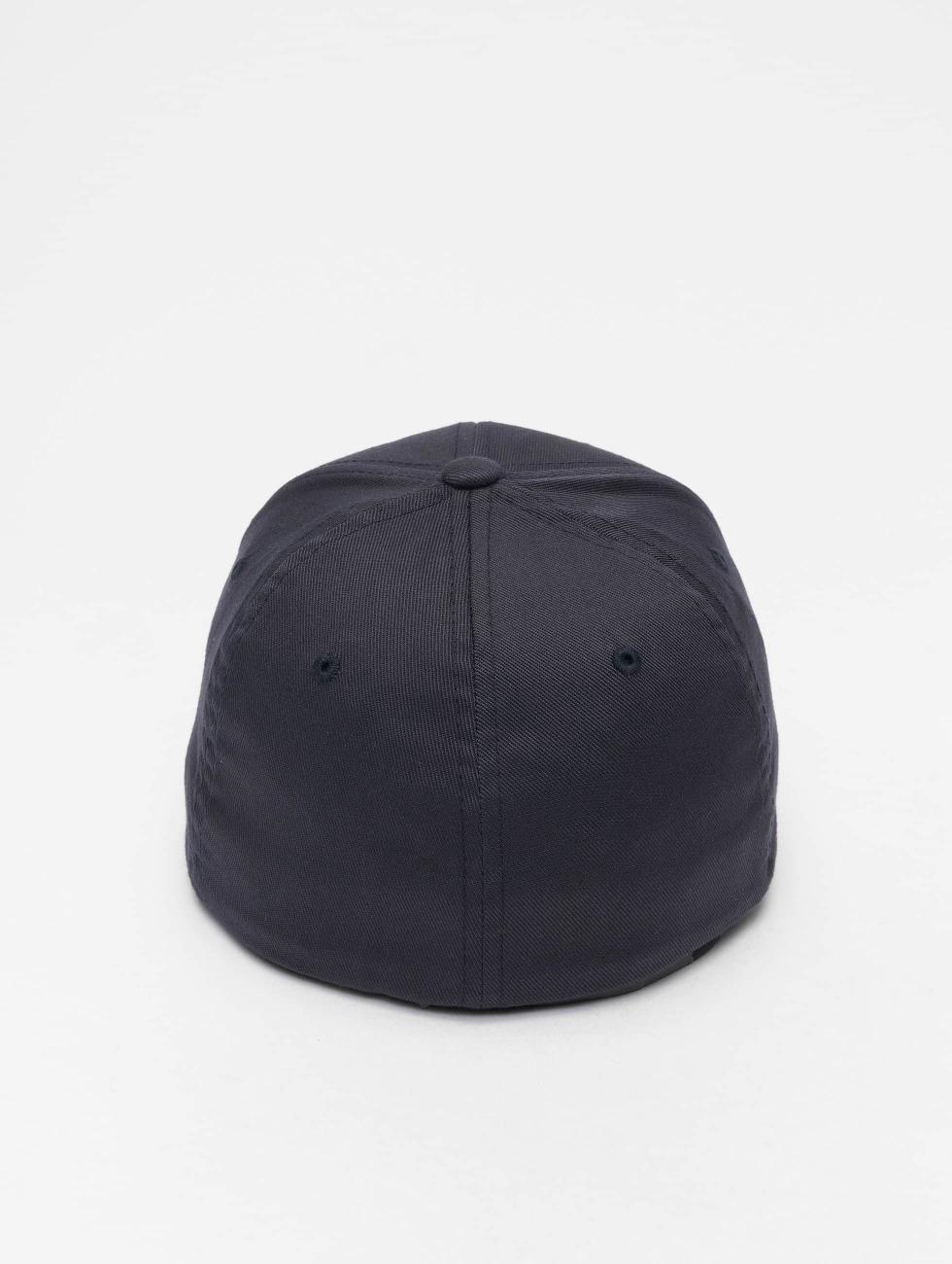Flexfit Flexfitted Cap Wooly Combed blauw