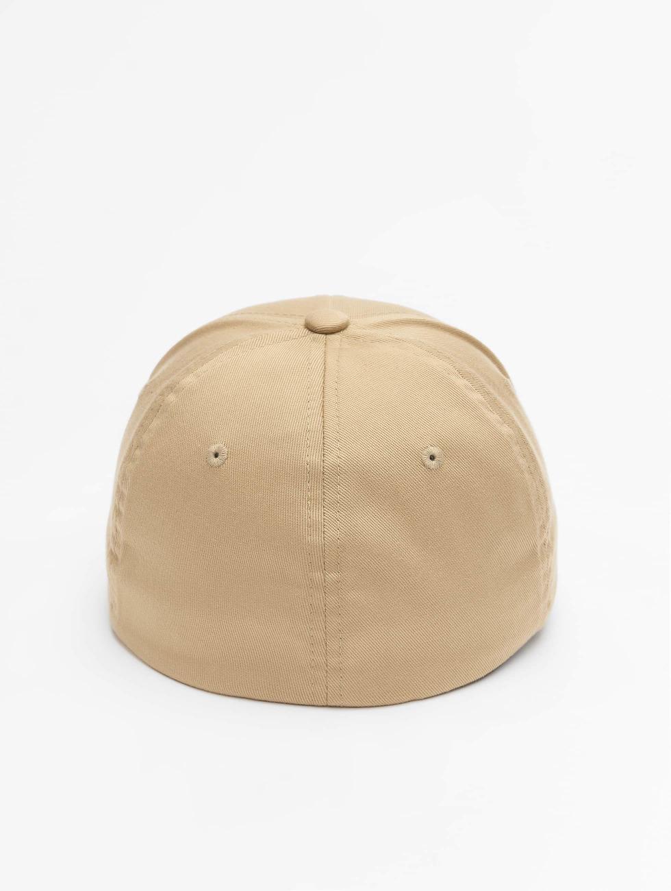 Flexfit Flexfitted Cap Wooly Combed khaki