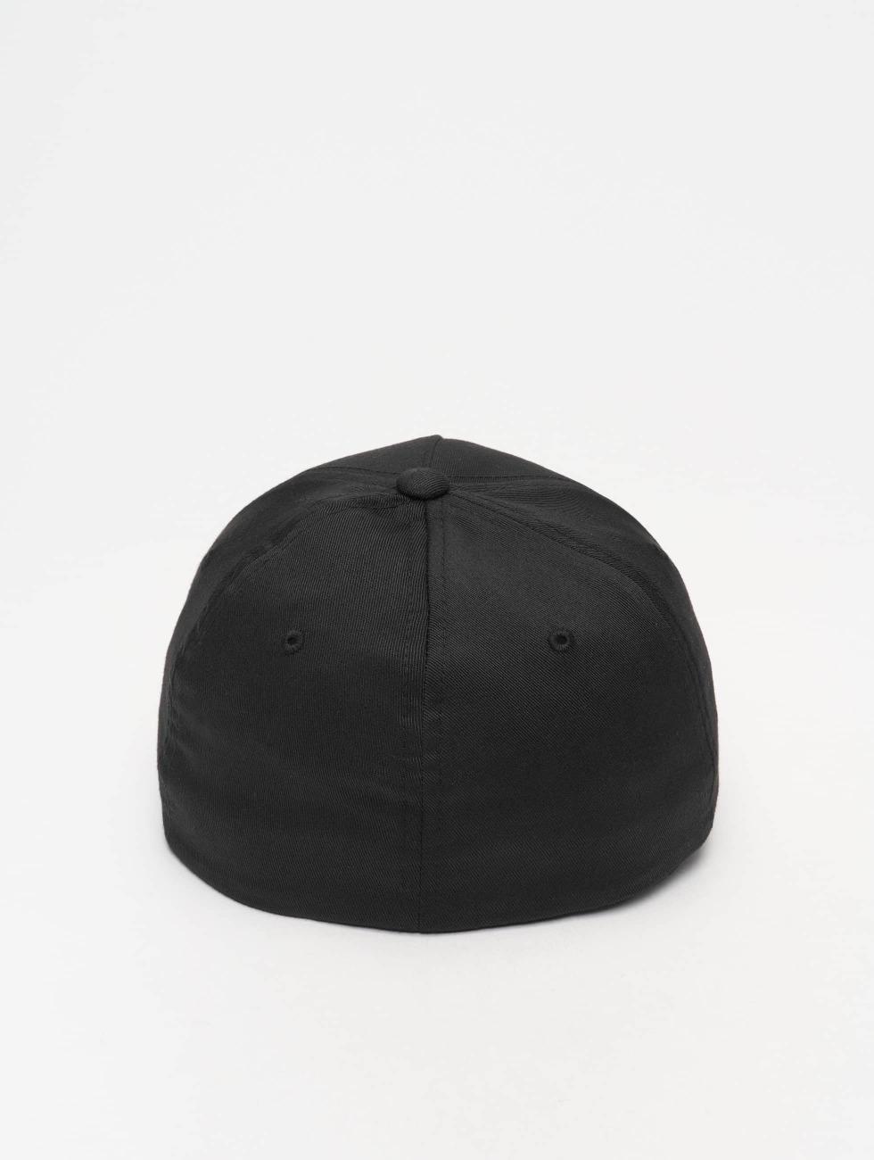 Flexfit Flexfitted Cap 5 Panel schwarz