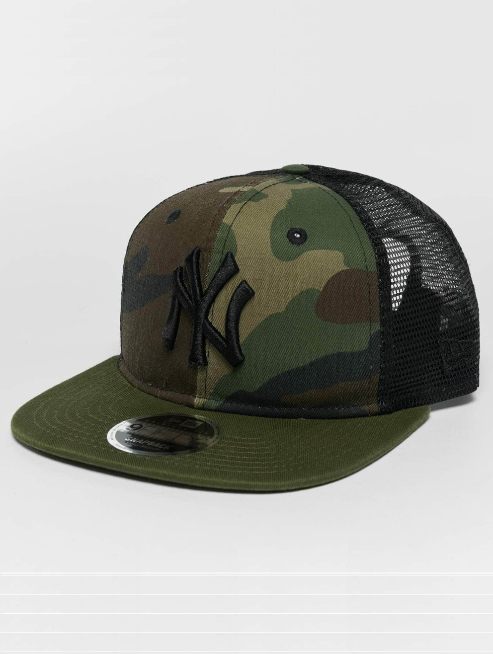 New Era Gorra Snapback Washed Camo NY Yankees camuflaje
