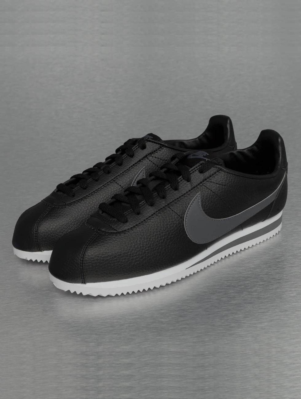 Nike Scarpa / Sneaker In Pelle Classica Cortez Nera 256986