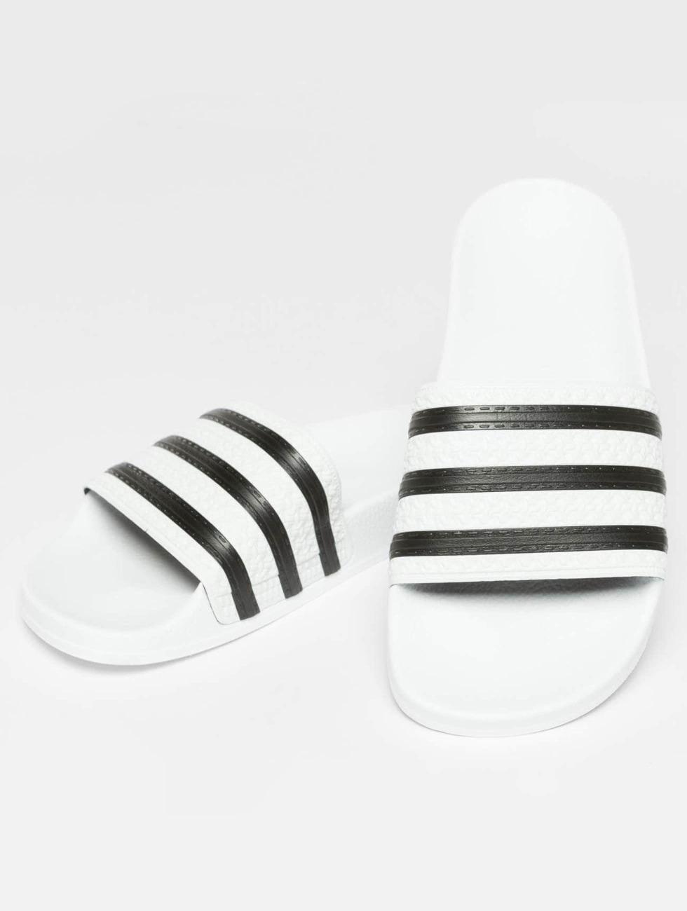 Adidas Originals Scarpa / Ciabatta / Sandalo In Bianco A Righe 480 491 ou6HS4