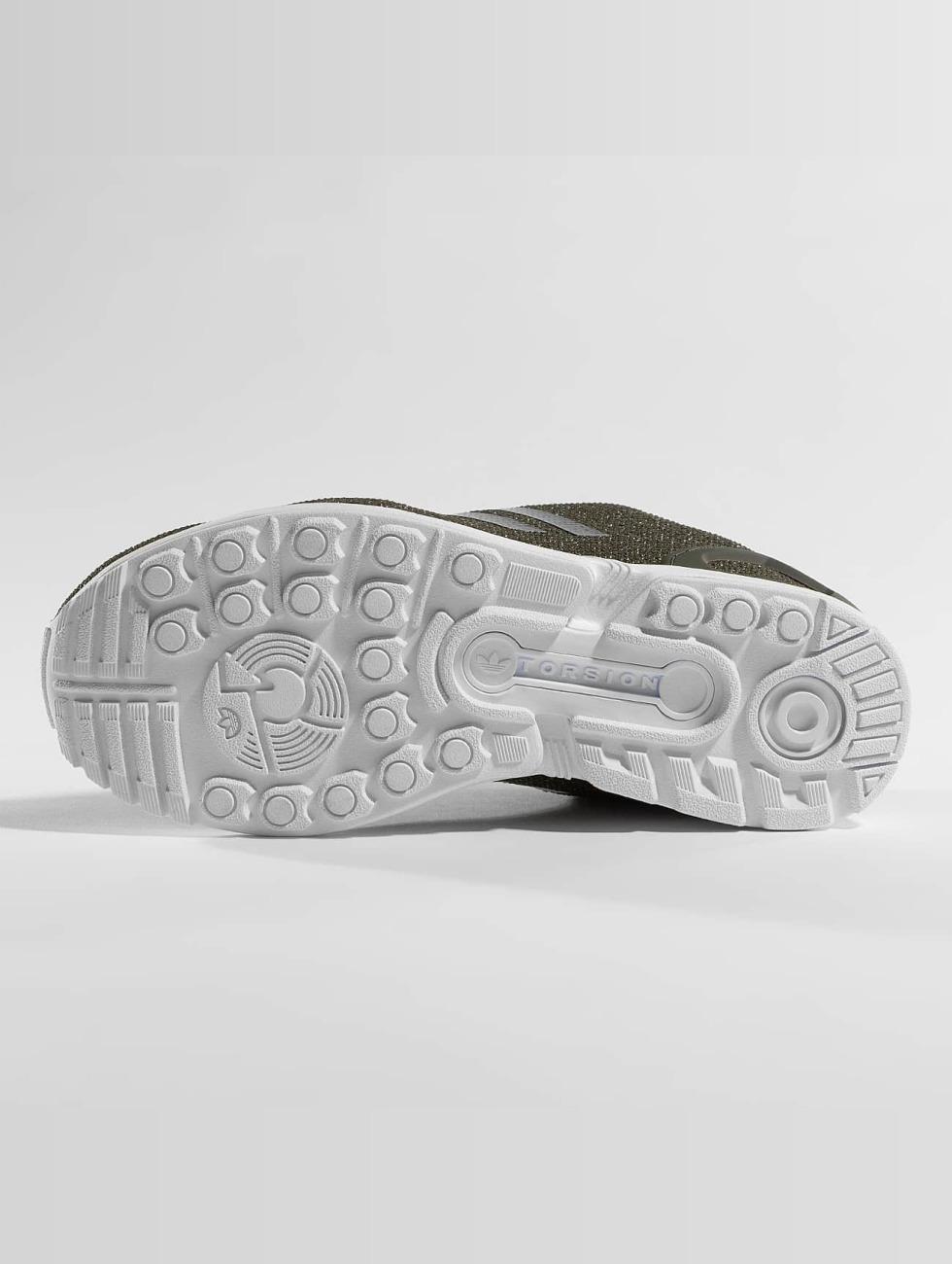 Qualité Supérieure Pas Cher En Ligne Adidas Originals Belle / Sneaker Zx Flux En Uniforme Kaki 360429 De Nombreux Types De Vente ZCYrdbM
