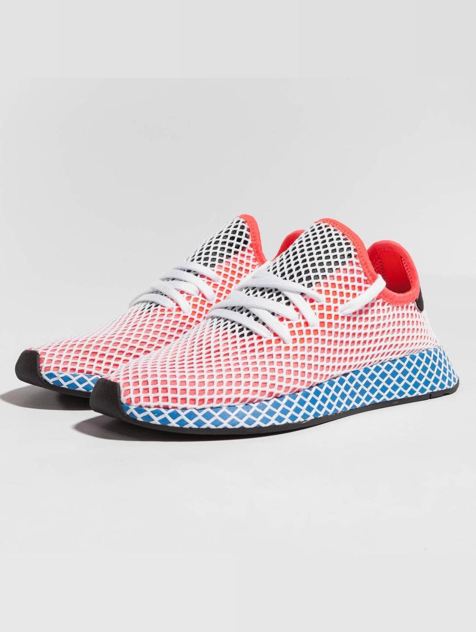 Adidas Originals Scarpa / Sneaker Corridore Deerupt In Rosso 437.501