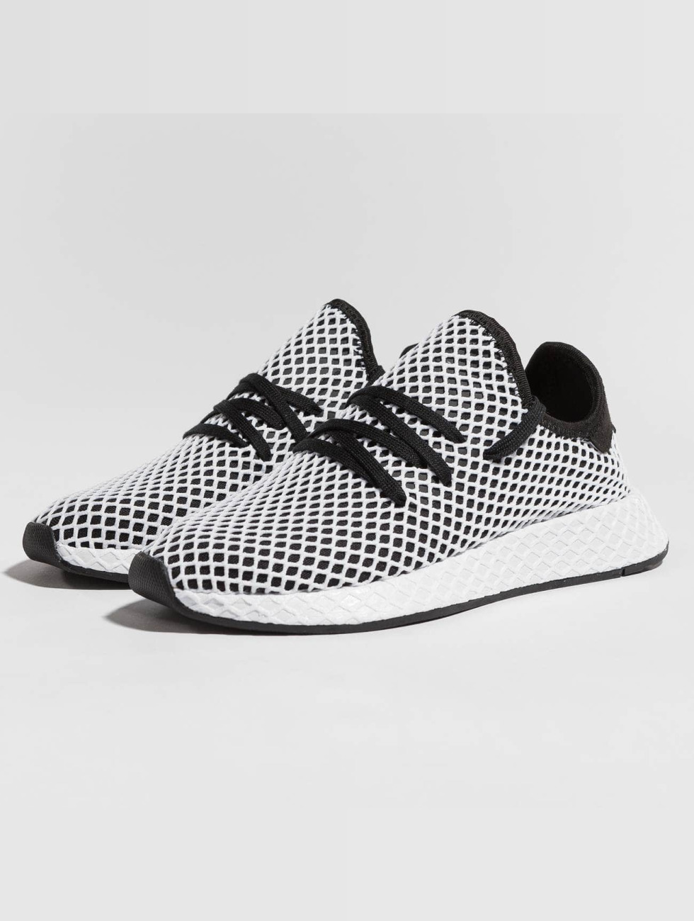 Adidas Originals Scarpa / Sneaker Corridore Deerupt In Nero 437 508 XXOV2pTXb0