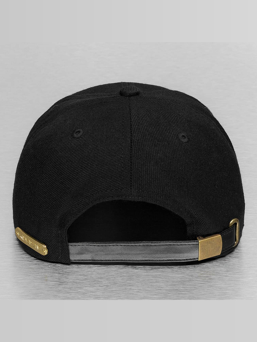 Bangastic Snapback Caps PU Logo II musta