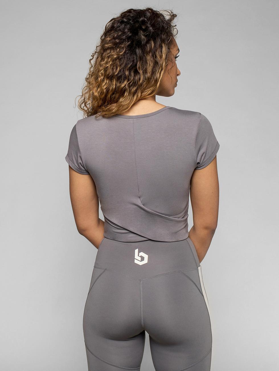 Beyond Limits Camiseta Bonded gris