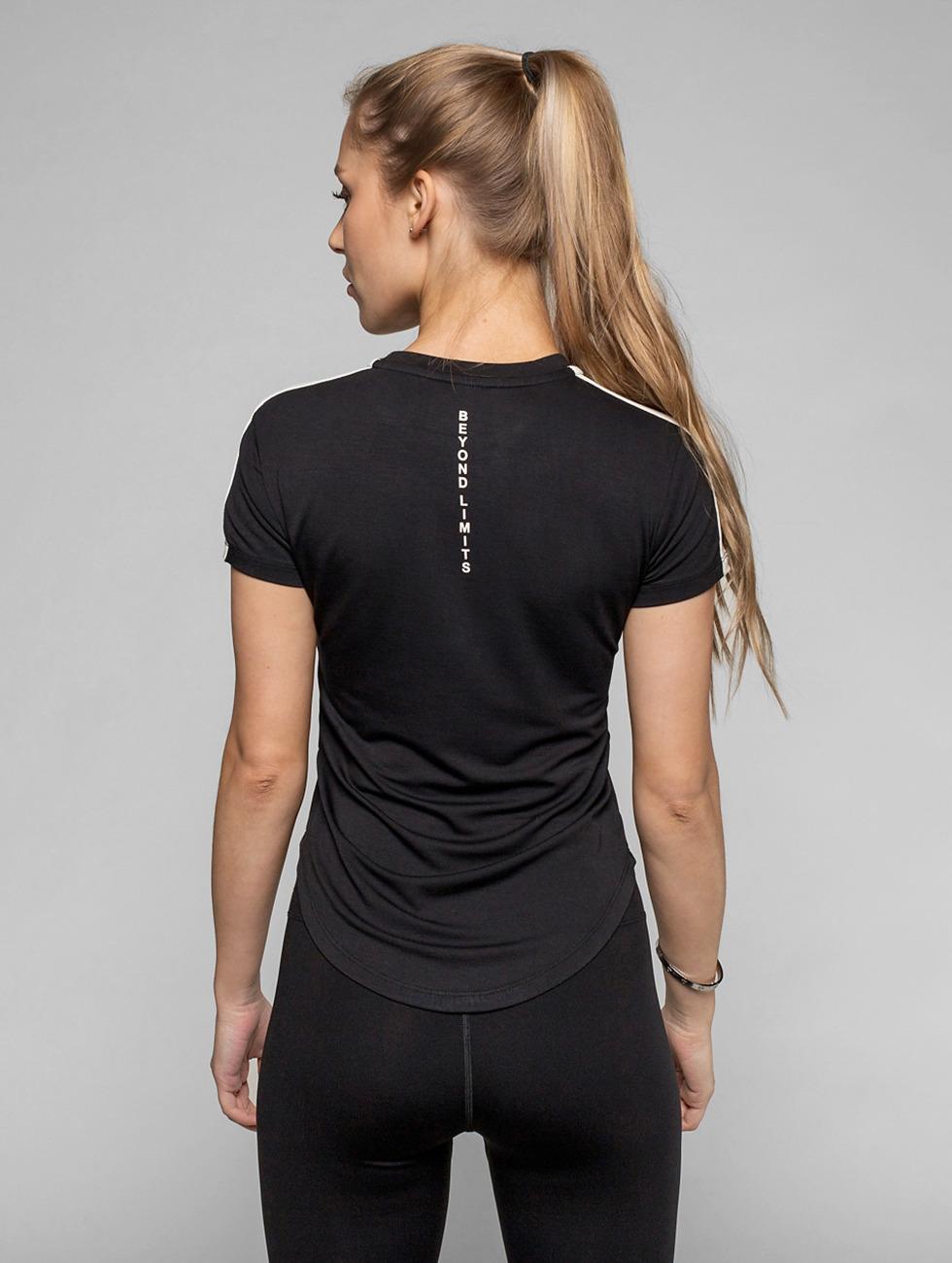 Beyond Limits Camiseta Statement negro