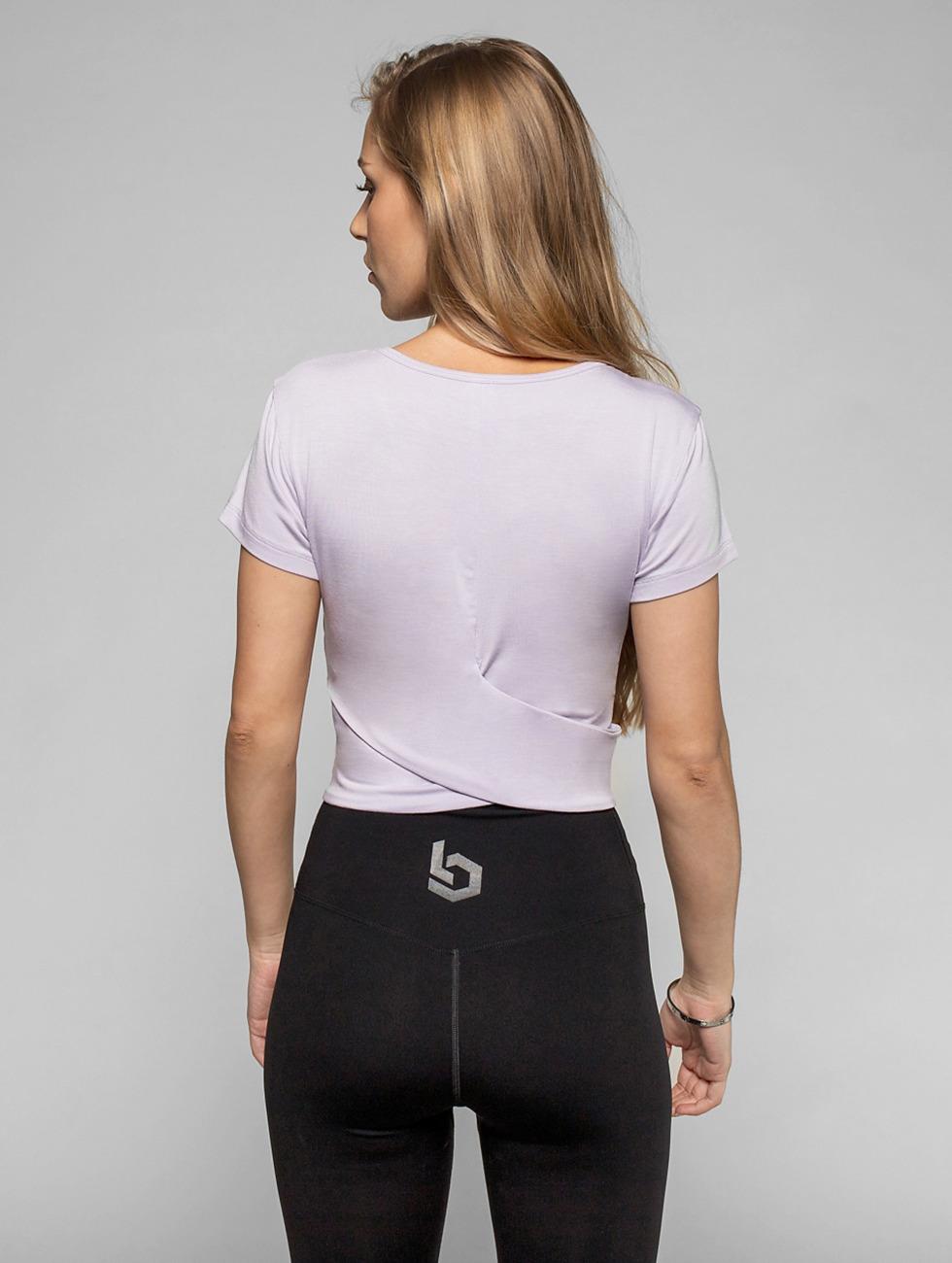 Beyond Limits T-Shirt Bonded violet