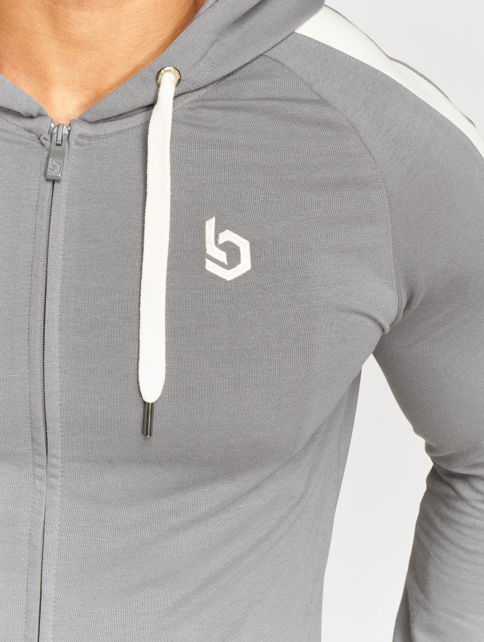 Beyond Limits Zip Hoodie Foundation grau