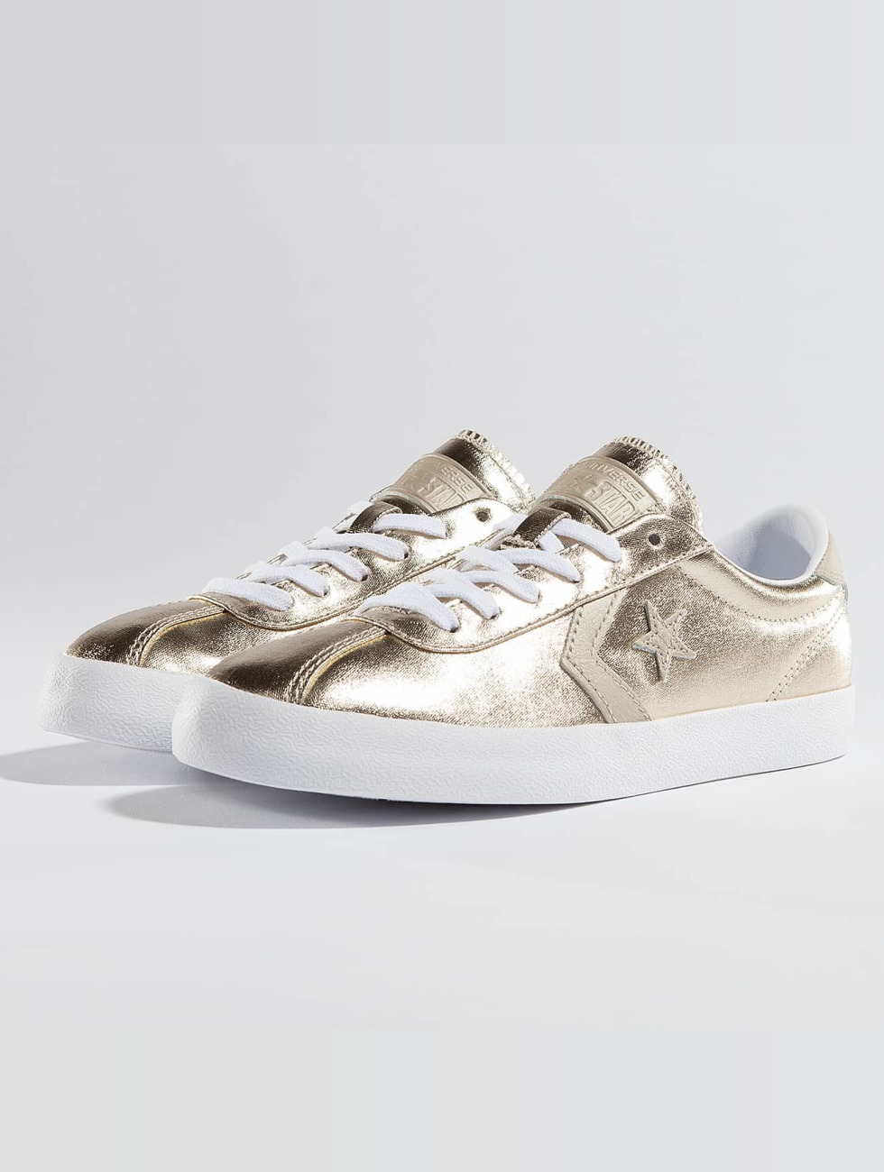 factory authentic 24b21 558d7 Converse Breakpoint Ox Sneakers Light Goldencolored/White/White
