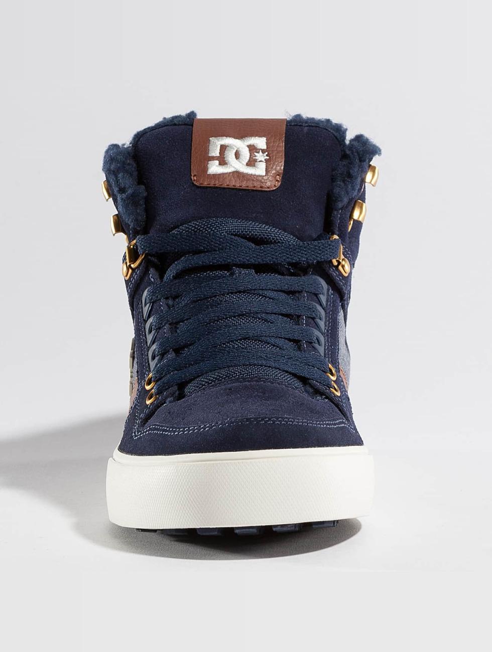 Dc Pattino / Sneaker Spartano Wnt Alta Igienica In Blu 337.746 Jy94DjJ4