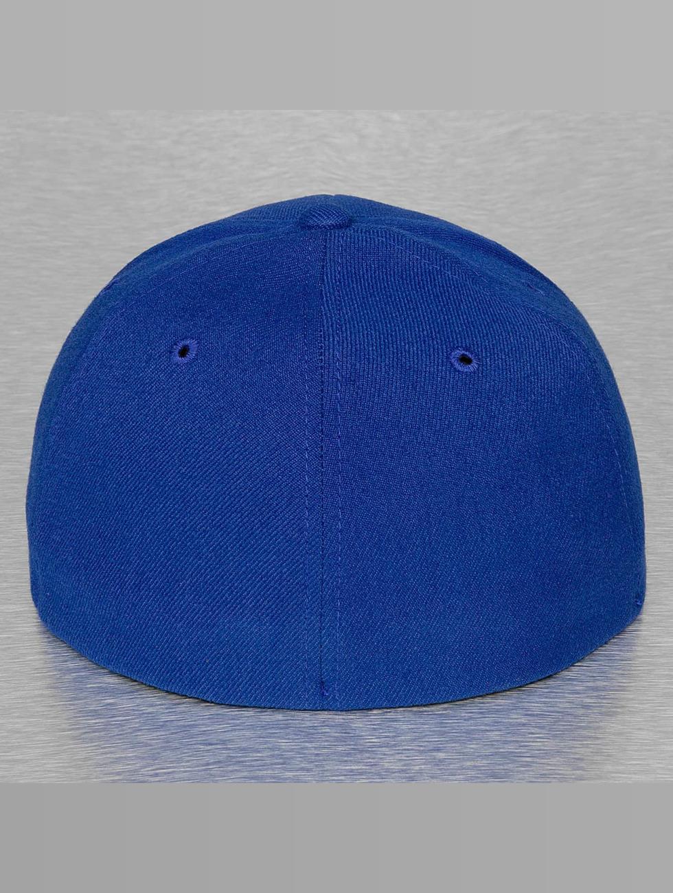 Decky USA Flexfitted Cap Flat Bill blauw