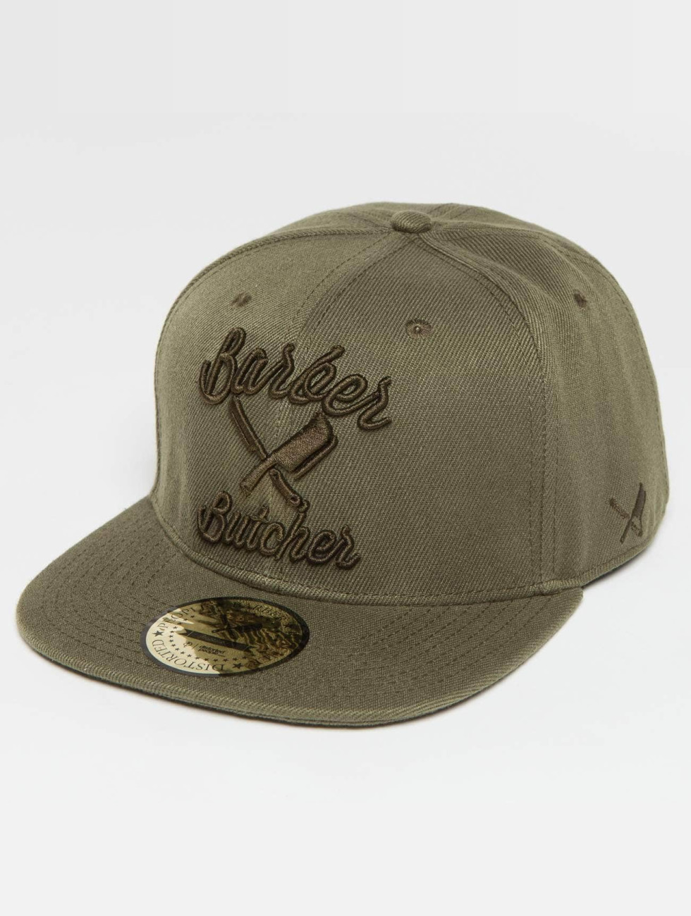 Distorted People Casquette Snapback & Strapback BB Blades olive