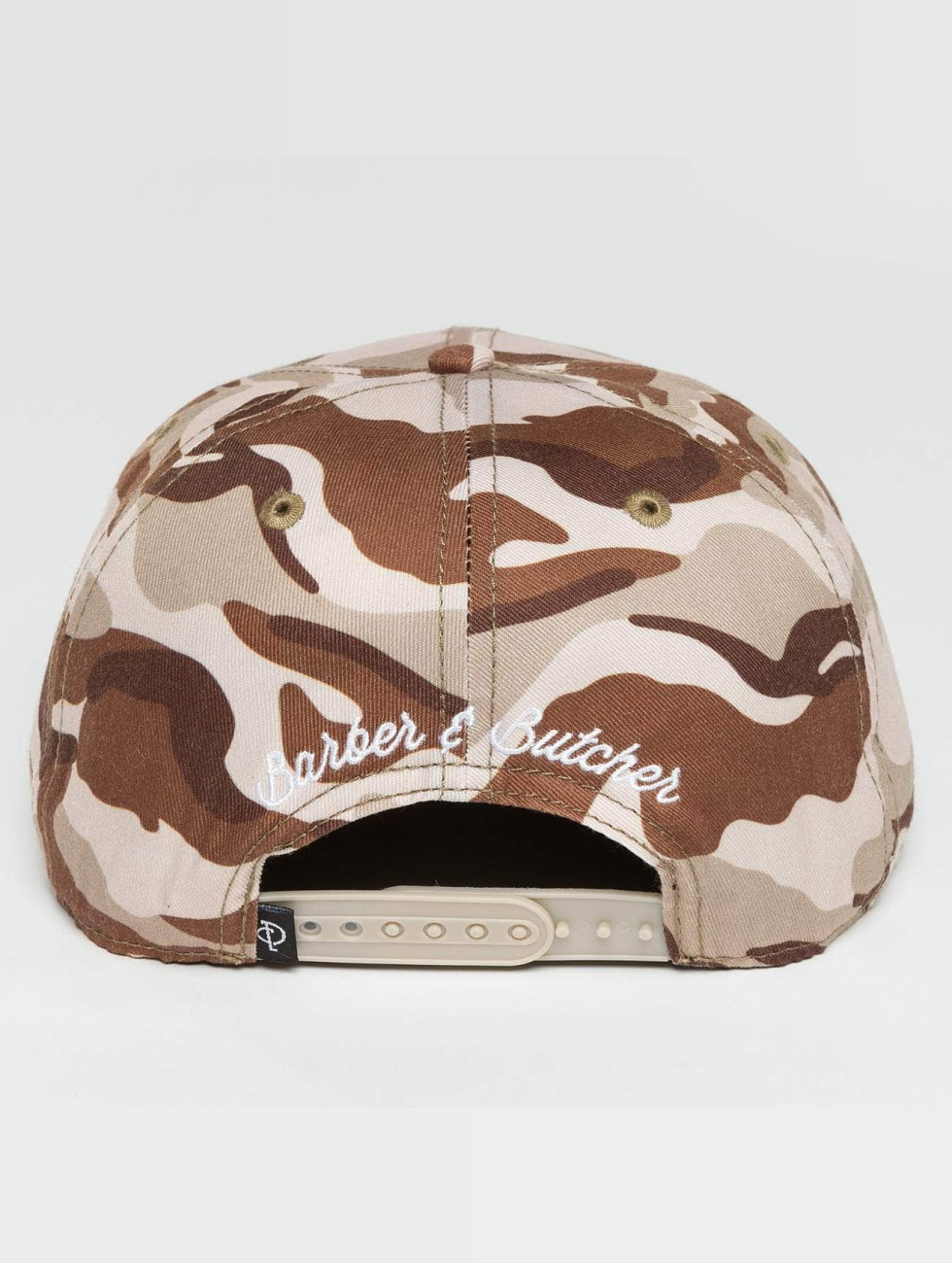Distorted People Snapback Caps Barber & Butcher camouflage