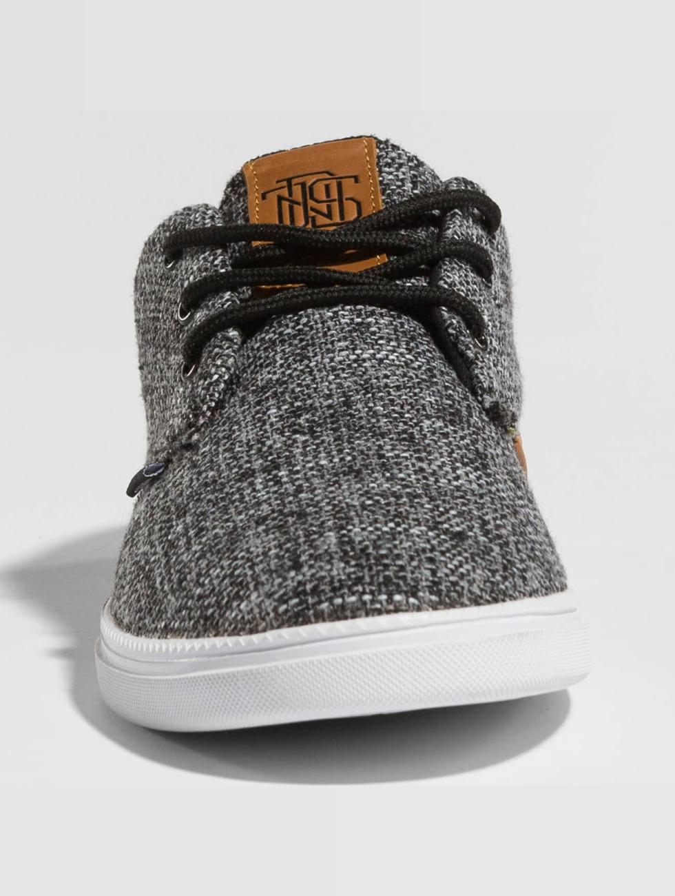 Djinns Baskets Low Lau Colored Linen noir