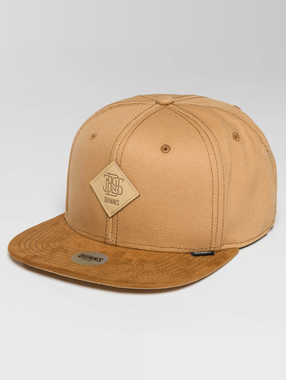 Djinns Casquette Snapback & Strapback 6 Panel Light Canvas beige