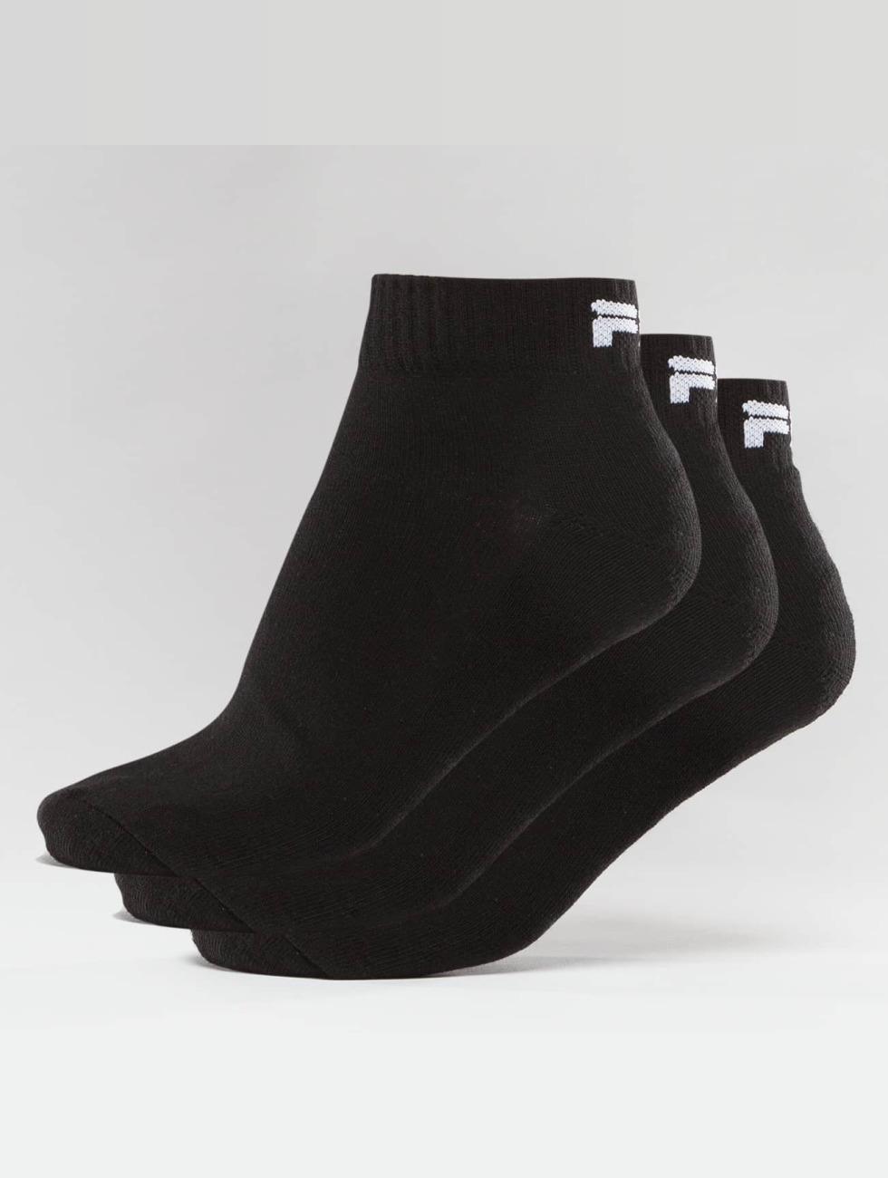 FILA Ponožky 3-Pack èierna