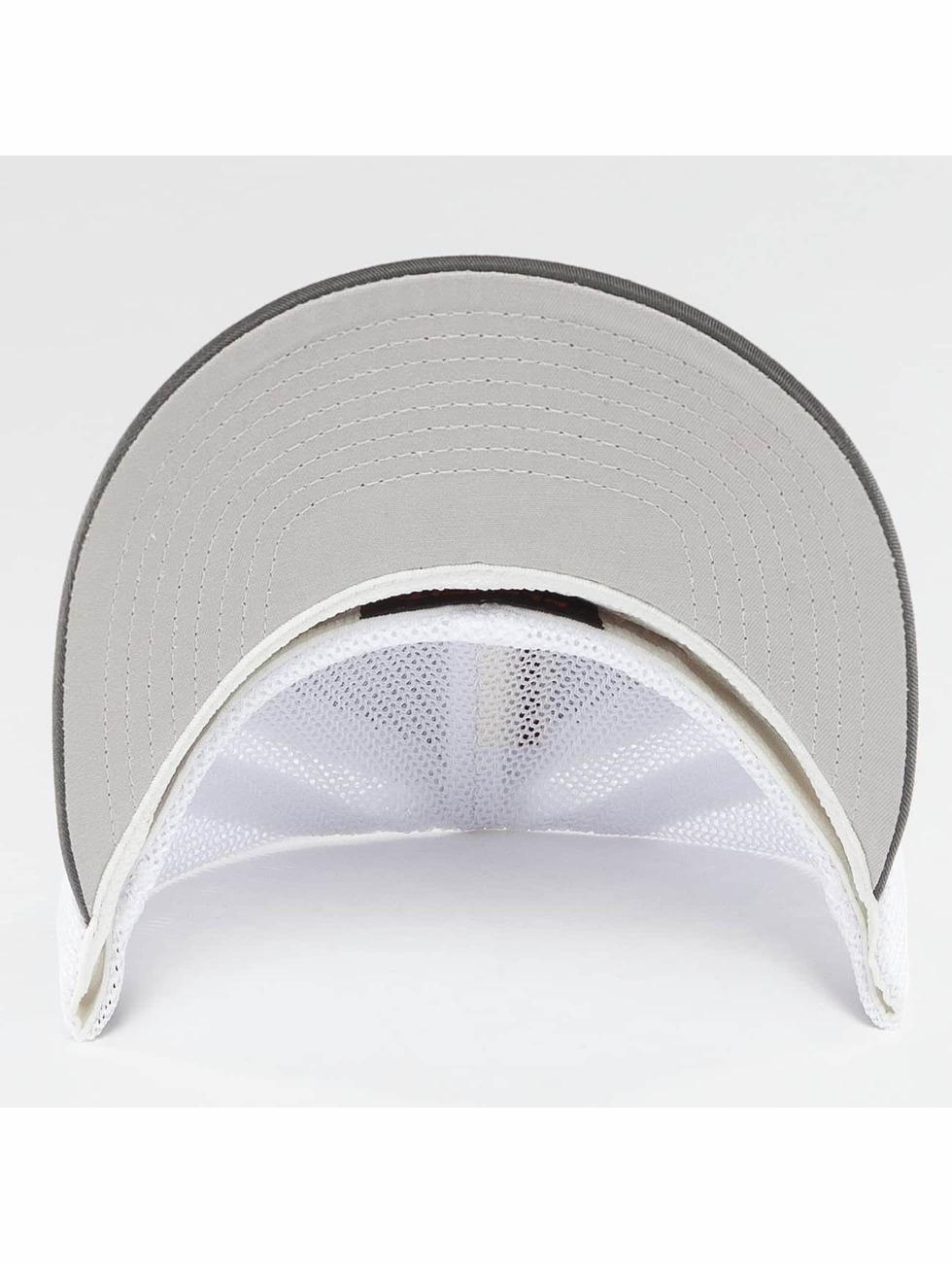 Flexfit Casquette Flex Fitted Mesh Cotton Twill Two Tone gris