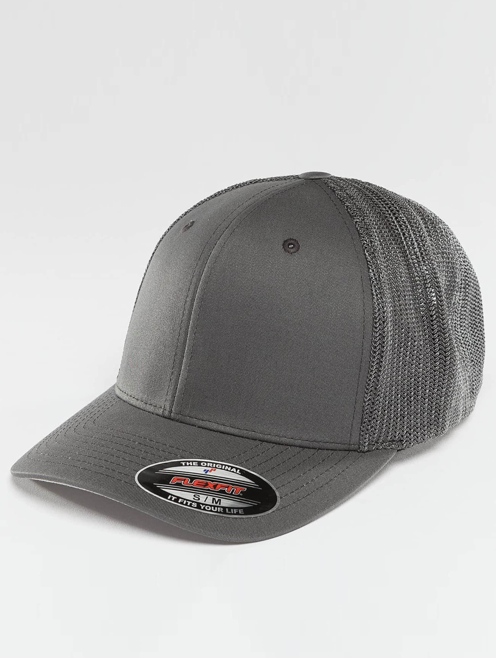 Flexfit Flexfitted Cap Mesh Cotton Twill grigio