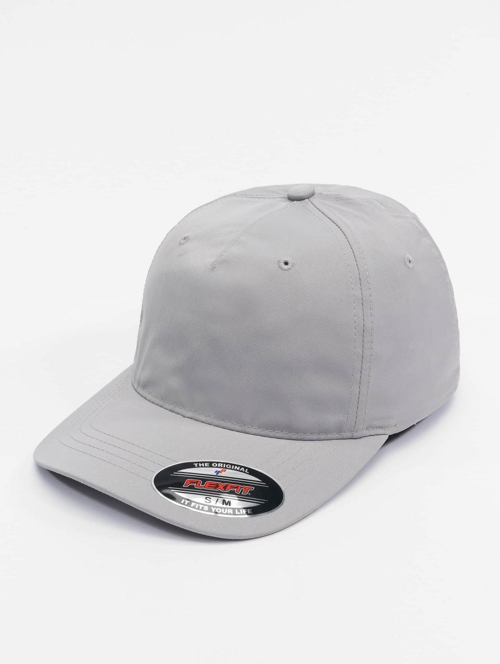 Flexfit Flexfitted Cap Unstructured Tech srebrny
