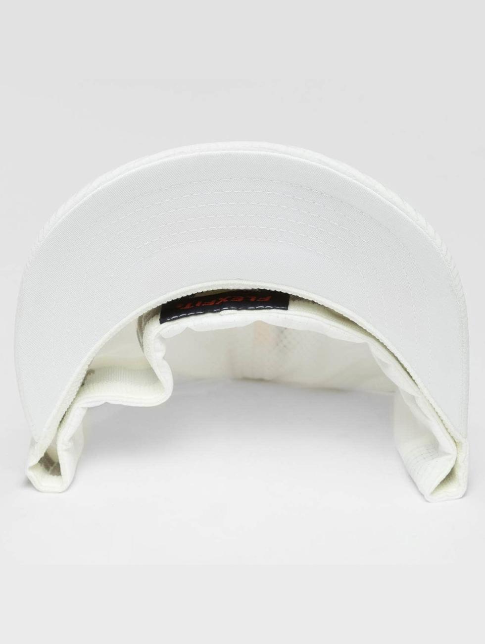 Flexfit Flexfitted-lippikset Hydro-Grid valkoinen