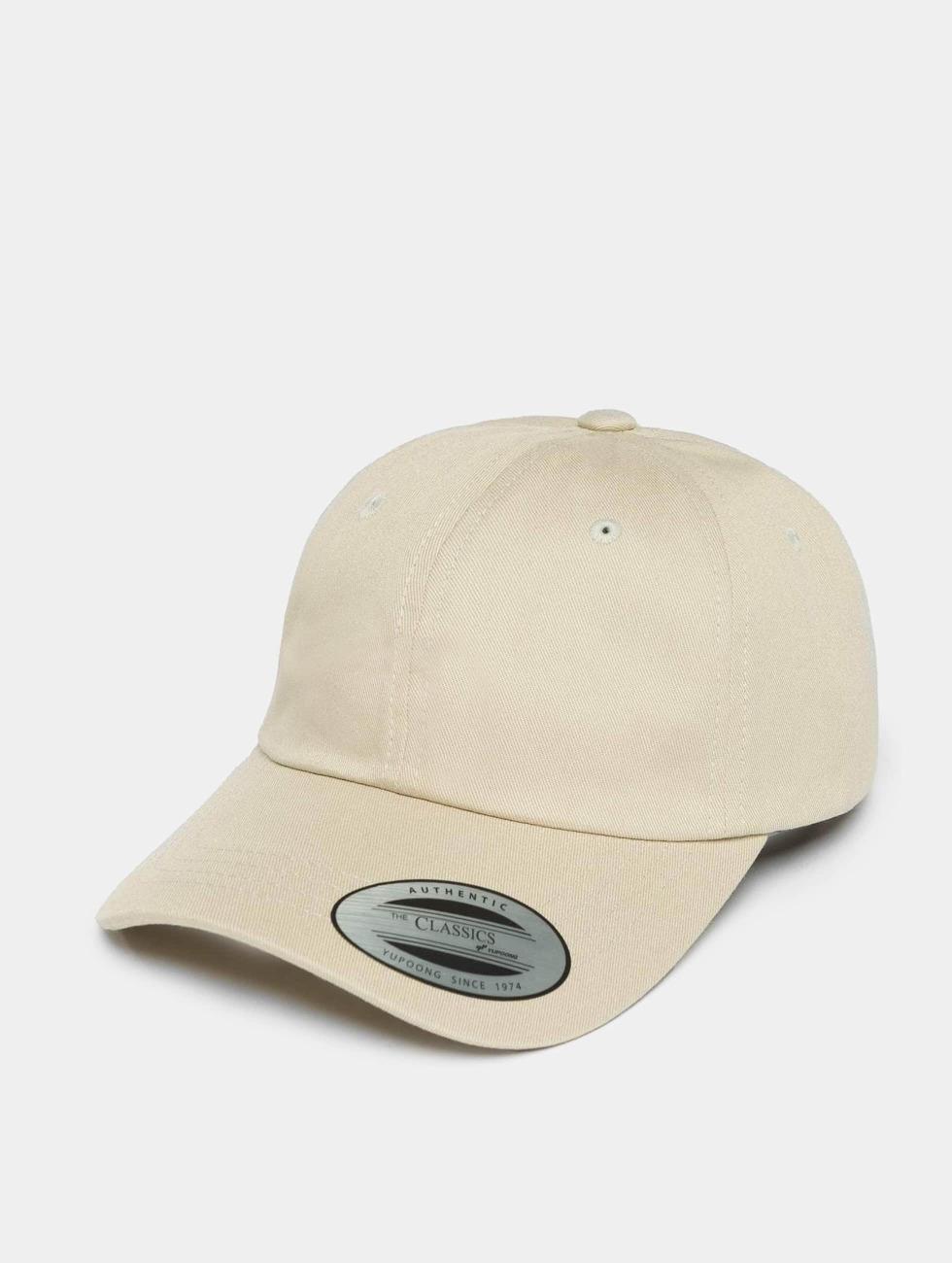 Flexfit Snapback Cap Low Profile Cotton Twill beige