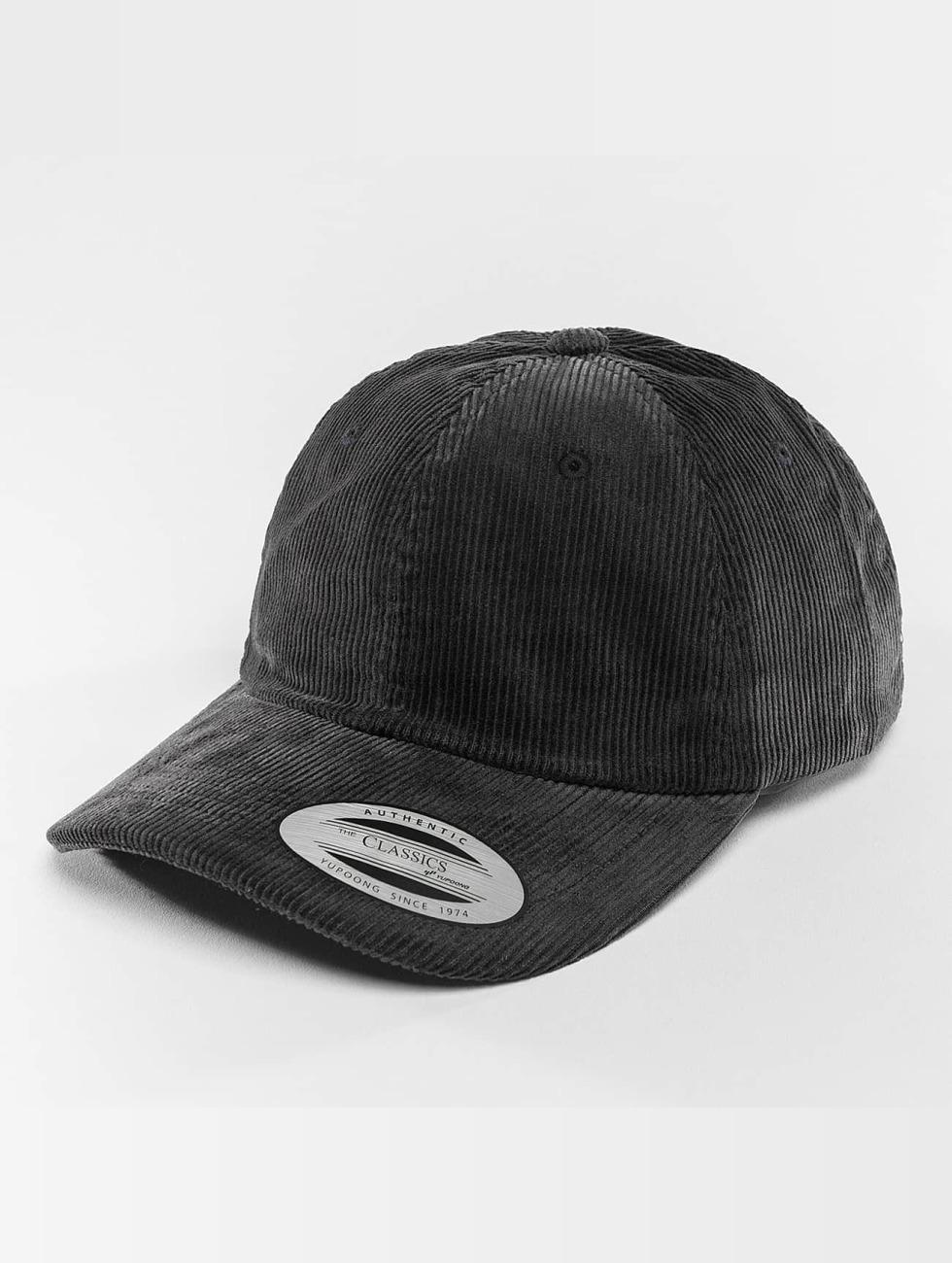 Flexfit snapback cap Low Profile Corduroy Dad blauw