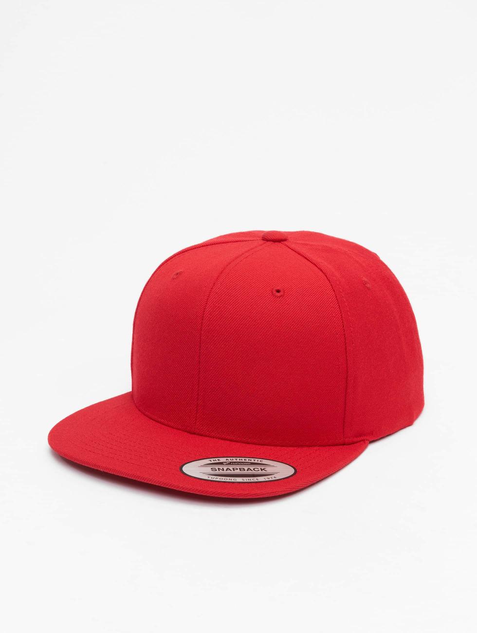 fb50dbc3a05 Flexfit Snapback Cap Classic in rot 128721