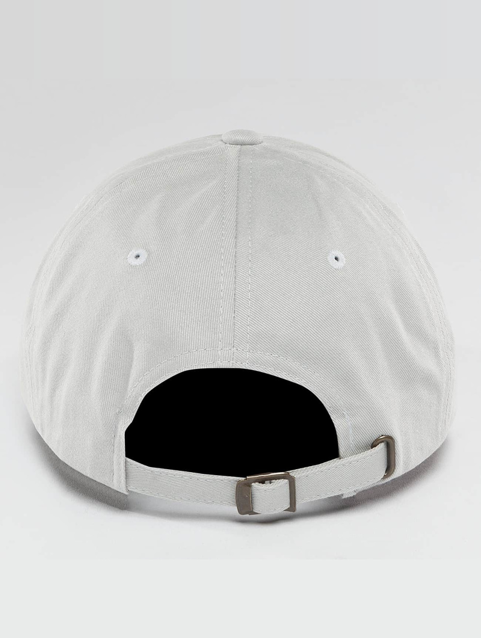 Flexfit Snapback Caps Peached Cotton Twill Dad grå