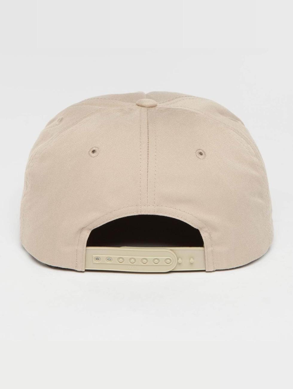Flexfit Snapback Caps Unstructured khaki