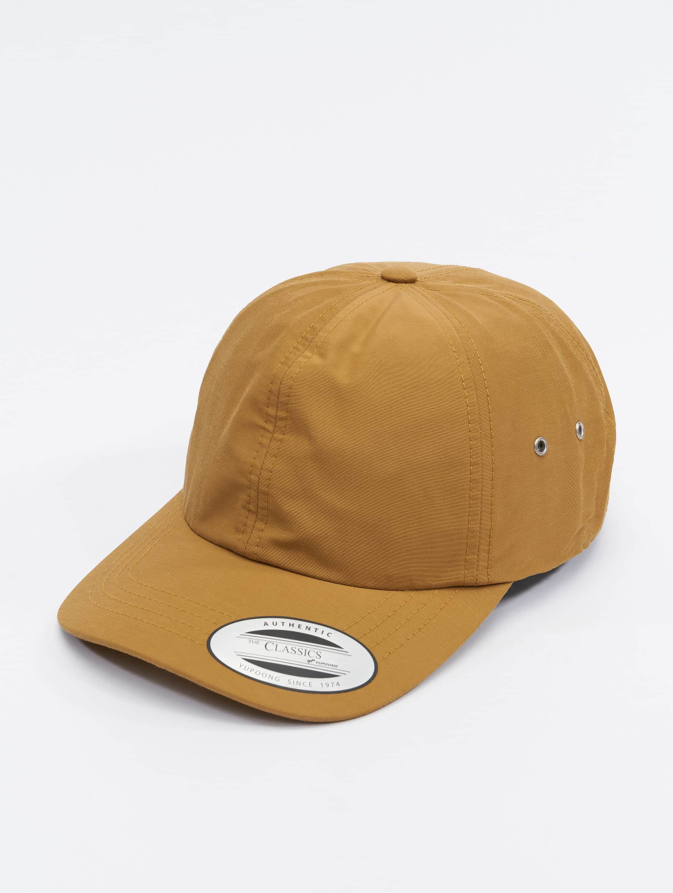 Flexfit Snapback Low Profile Water Repellent hnedá