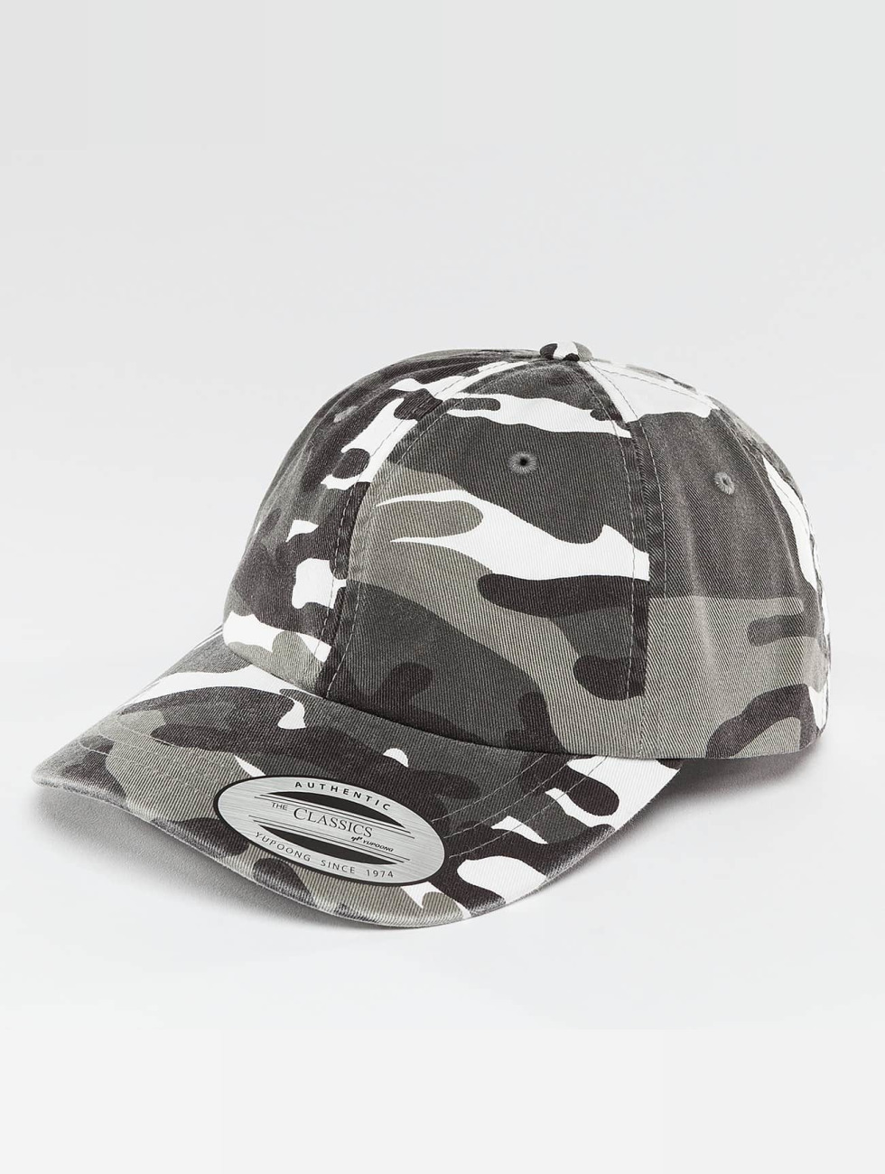 Flexfit Snapback Low Profile Camo Washed maskáèová