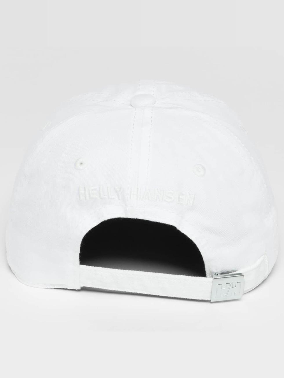 Helly Hansen Snapback Caps Logo bialy